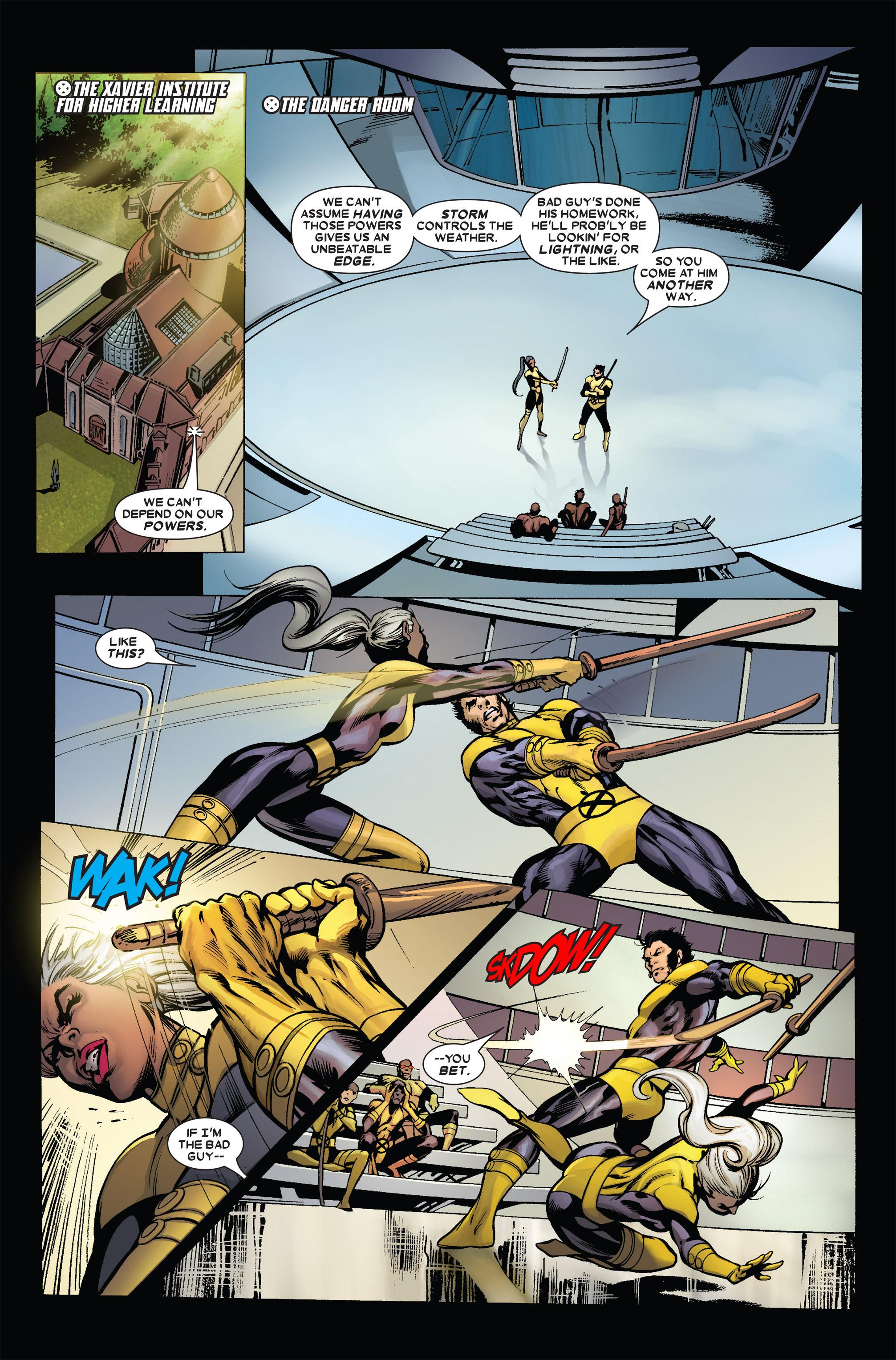 Read online Uncanny X-Men (1963) comic -  Issue #455 - 5