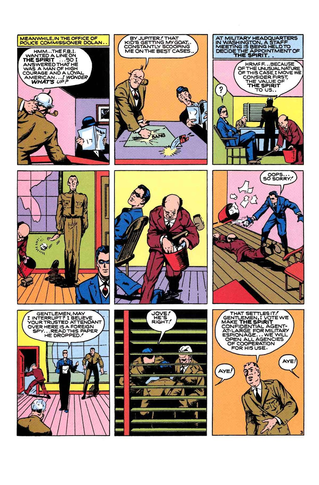 Read online Will Eisner's The Spirit Archives comic -  Issue # TPB 1 (Part 2) - 51