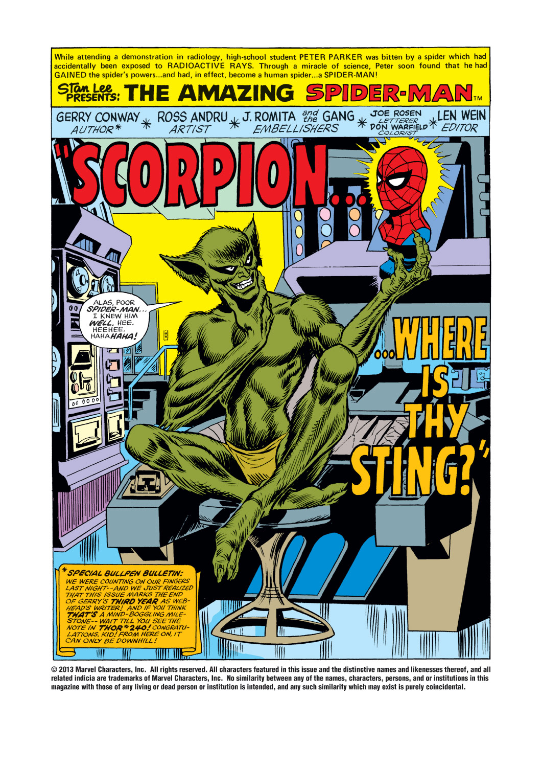 The Amazing Spider-Man (1963) 146 Page 1