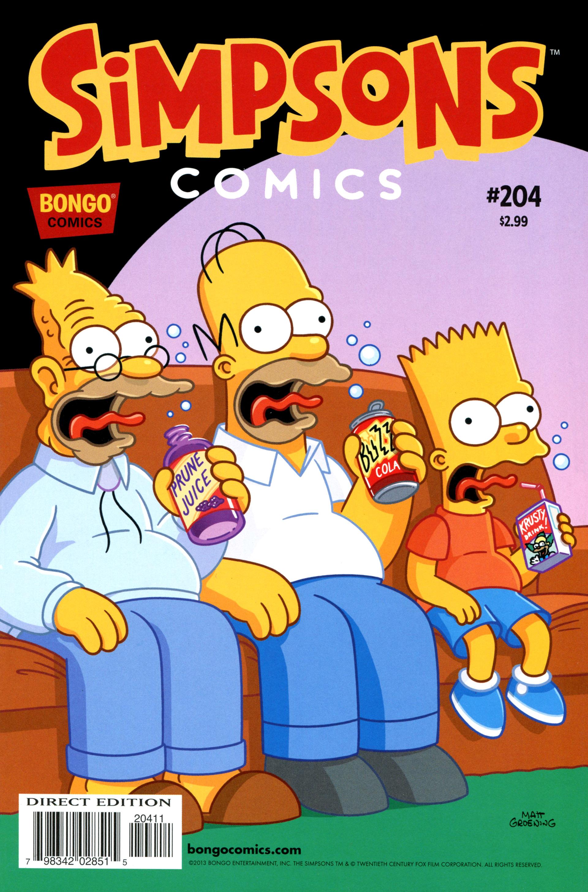 Read online Simpsons Comics comic -  Issue #204 - 1