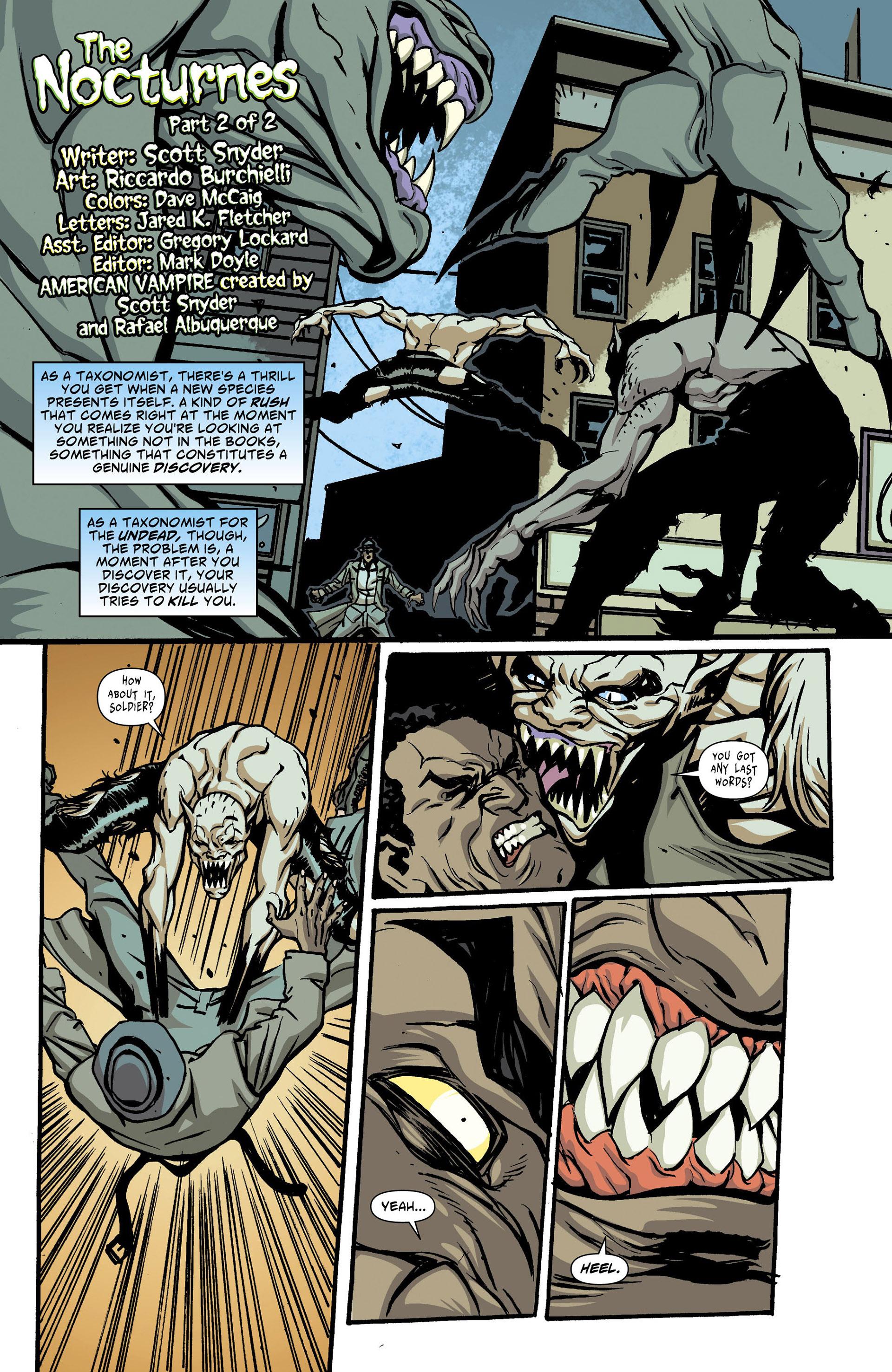 Read online American Vampire comic -  Issue #27 - 2
