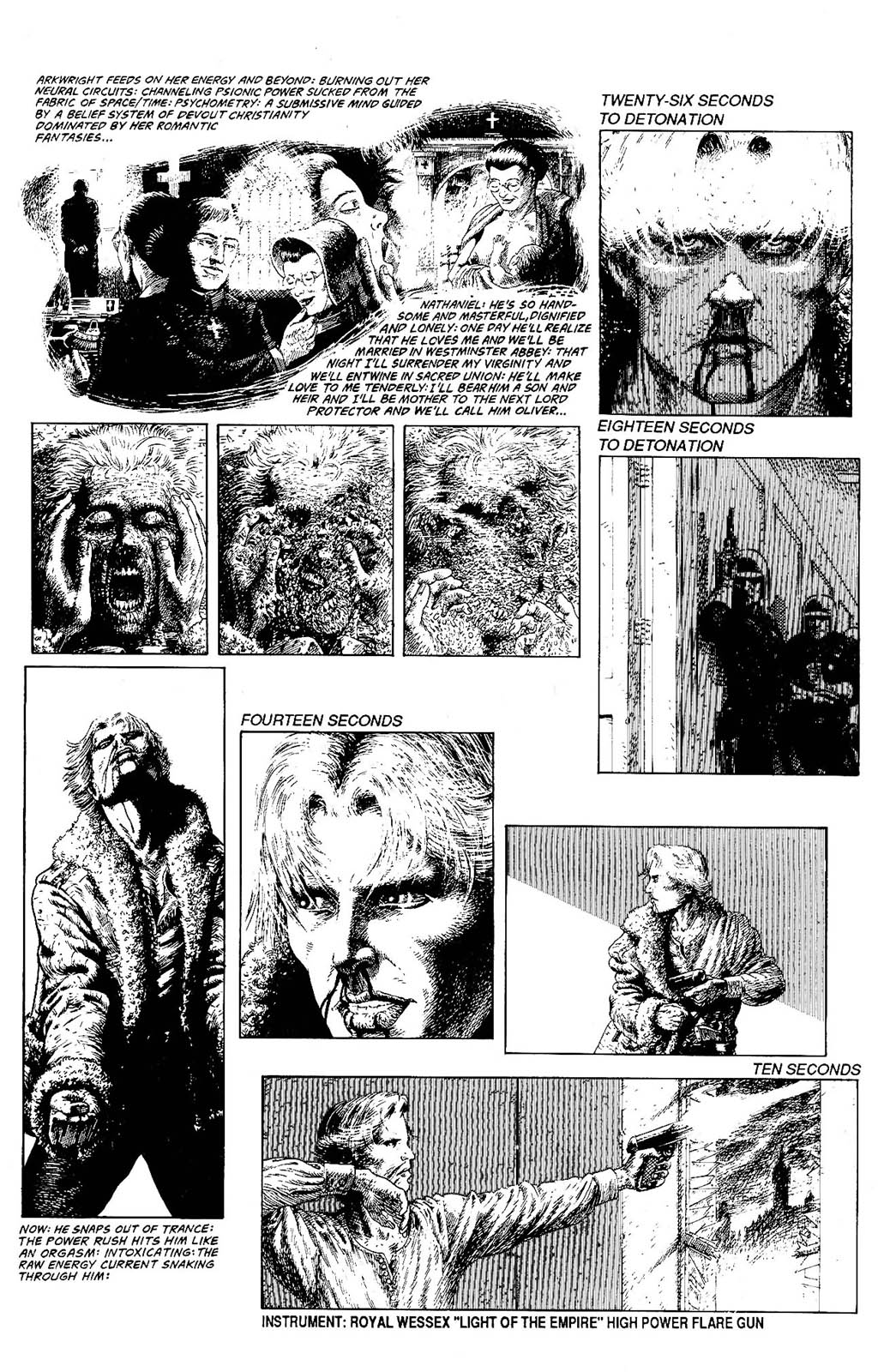 Read online The Adventures of Luther Arkwright comic -  Issue #8 - 17