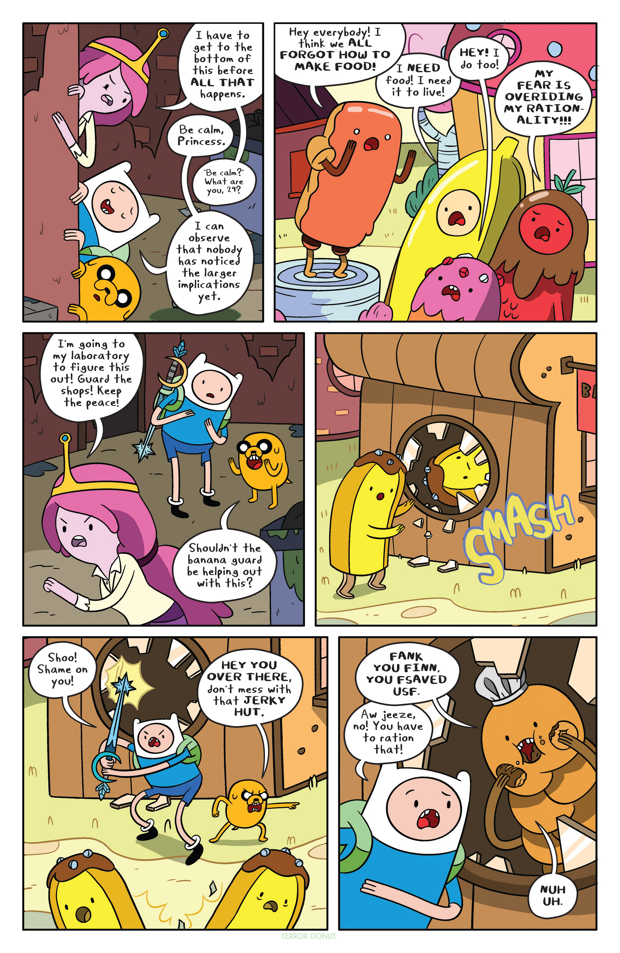 Read online Adventure Time comic -  Issue #37 - 8