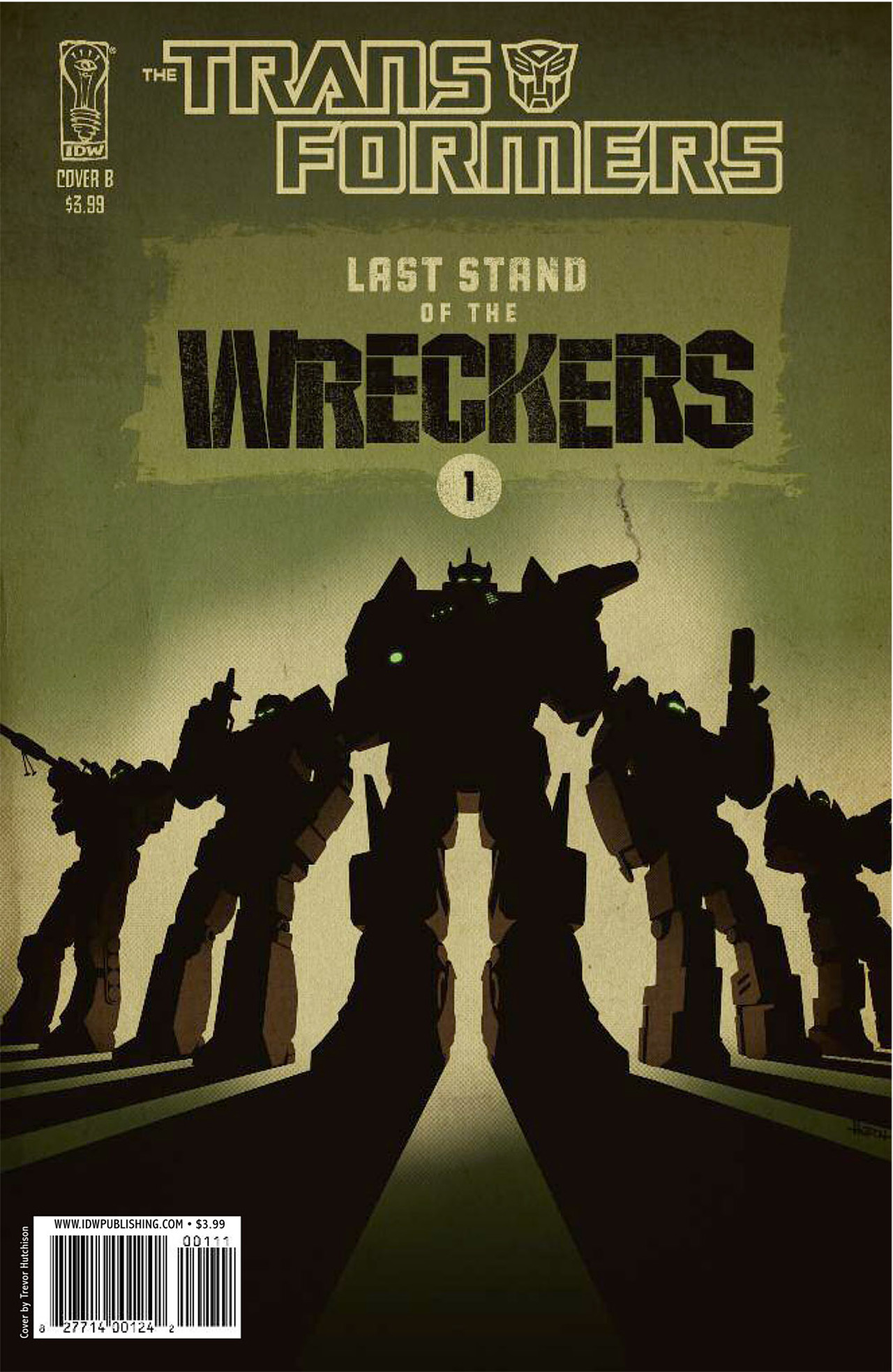 Read online Transformers: Last Stand of The Wreckers comic -  Issue #1 - 2