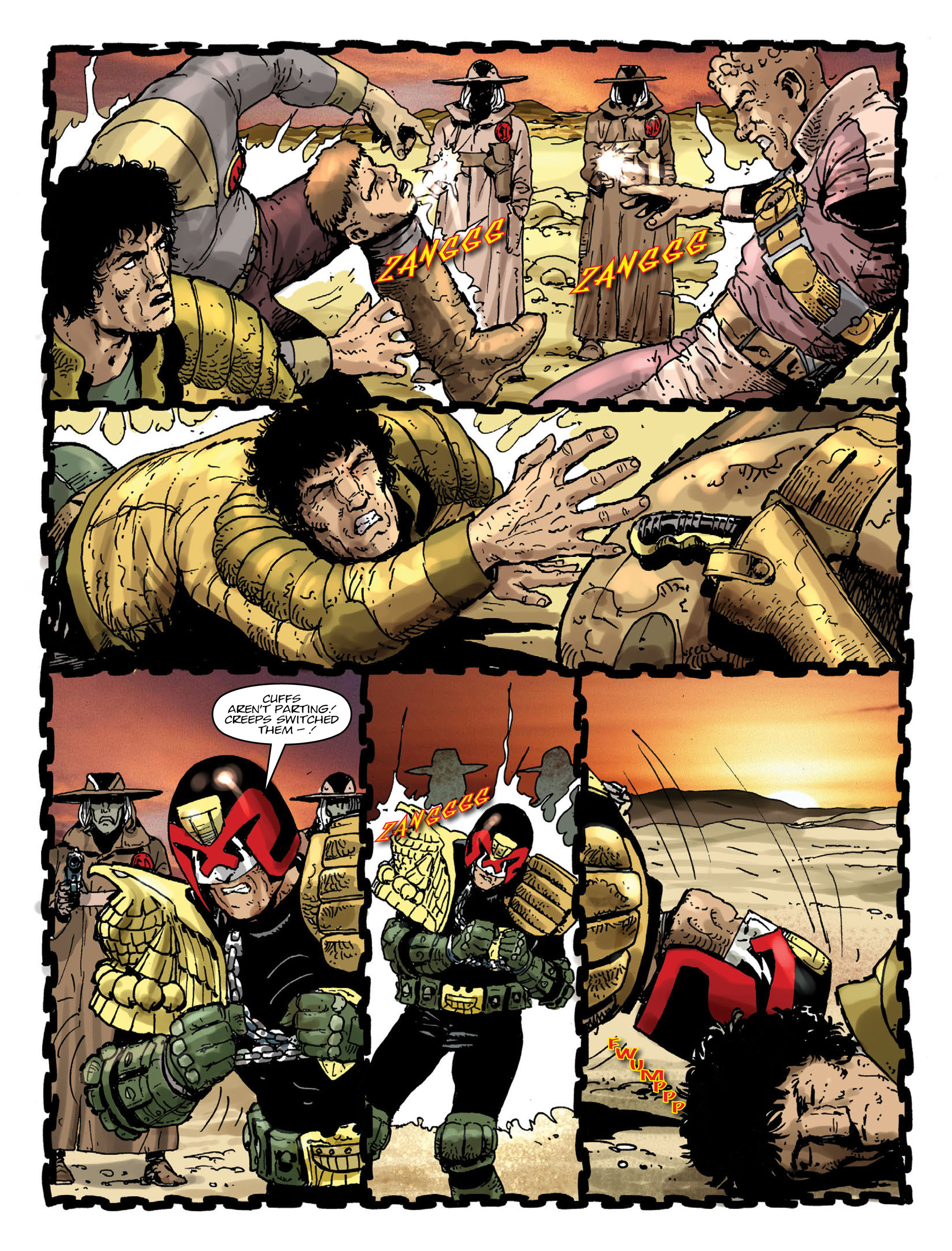 Read online 2000 AD comic -  Issue #2000 - 8