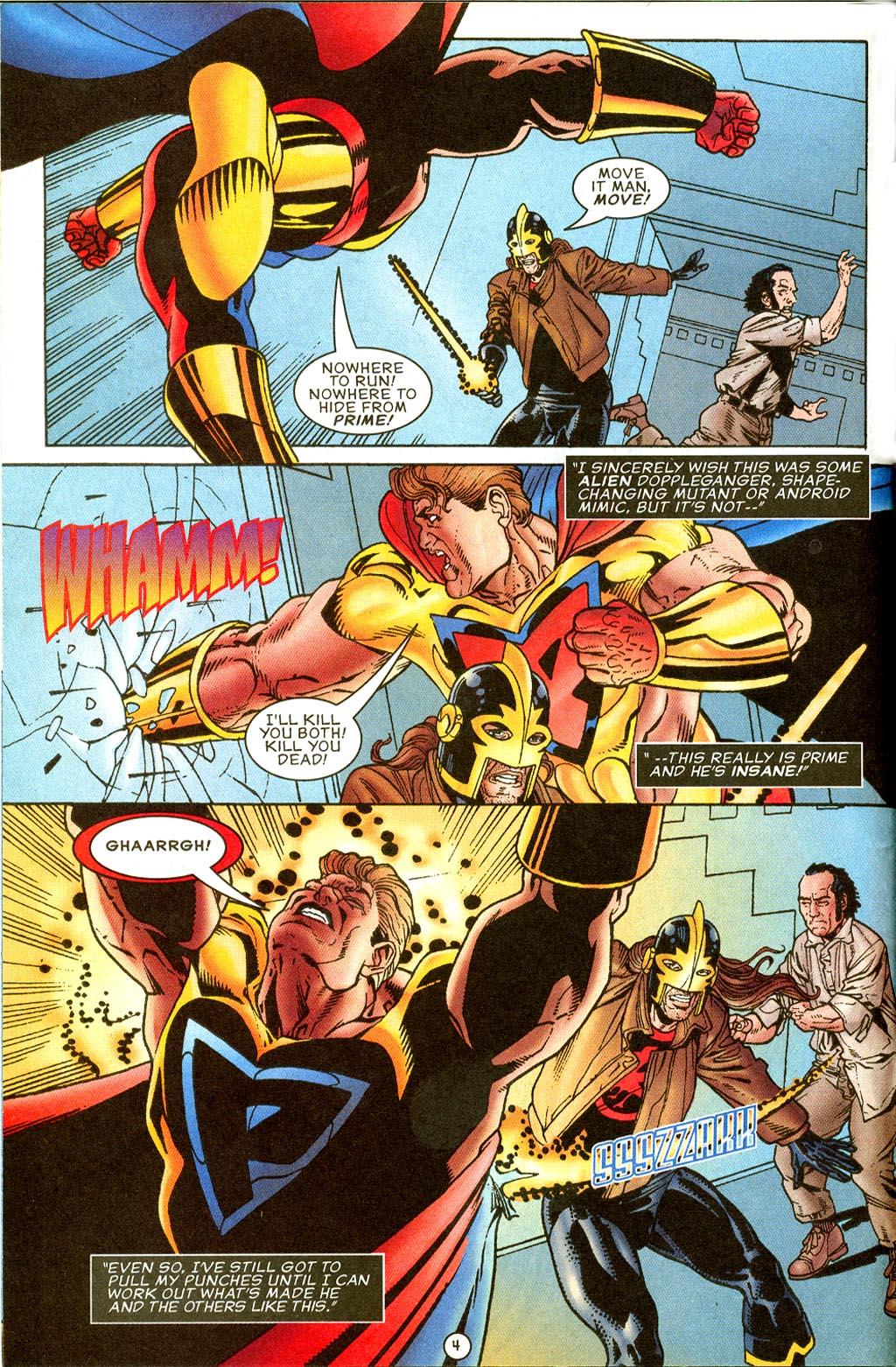 Read online UltraForce (1995) comic -  Issue #8 - 5
