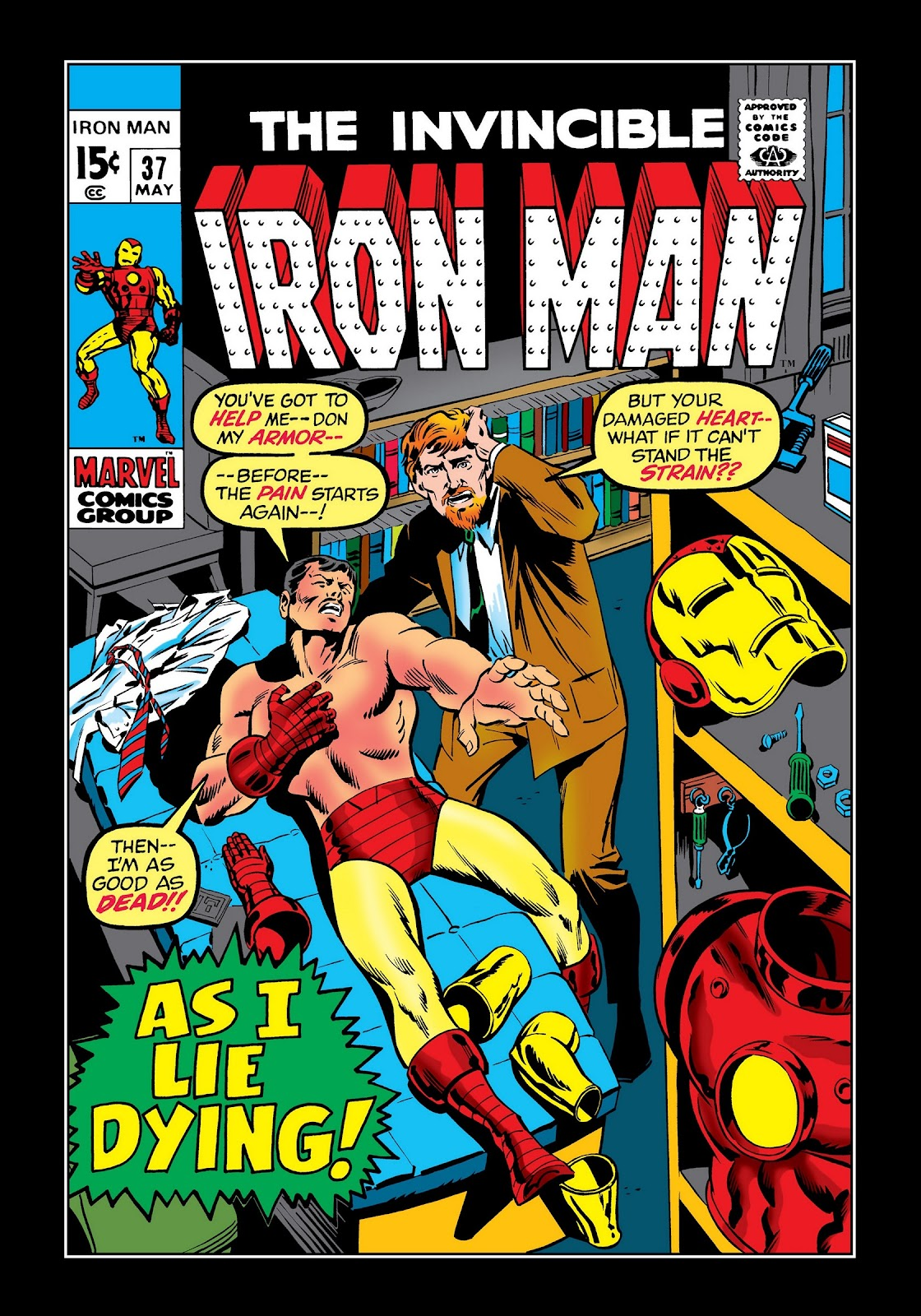 Read online Marvel Masterworks: The Invincible Iron Man comic -  Issue # TPB 7 (Part 3) - 49