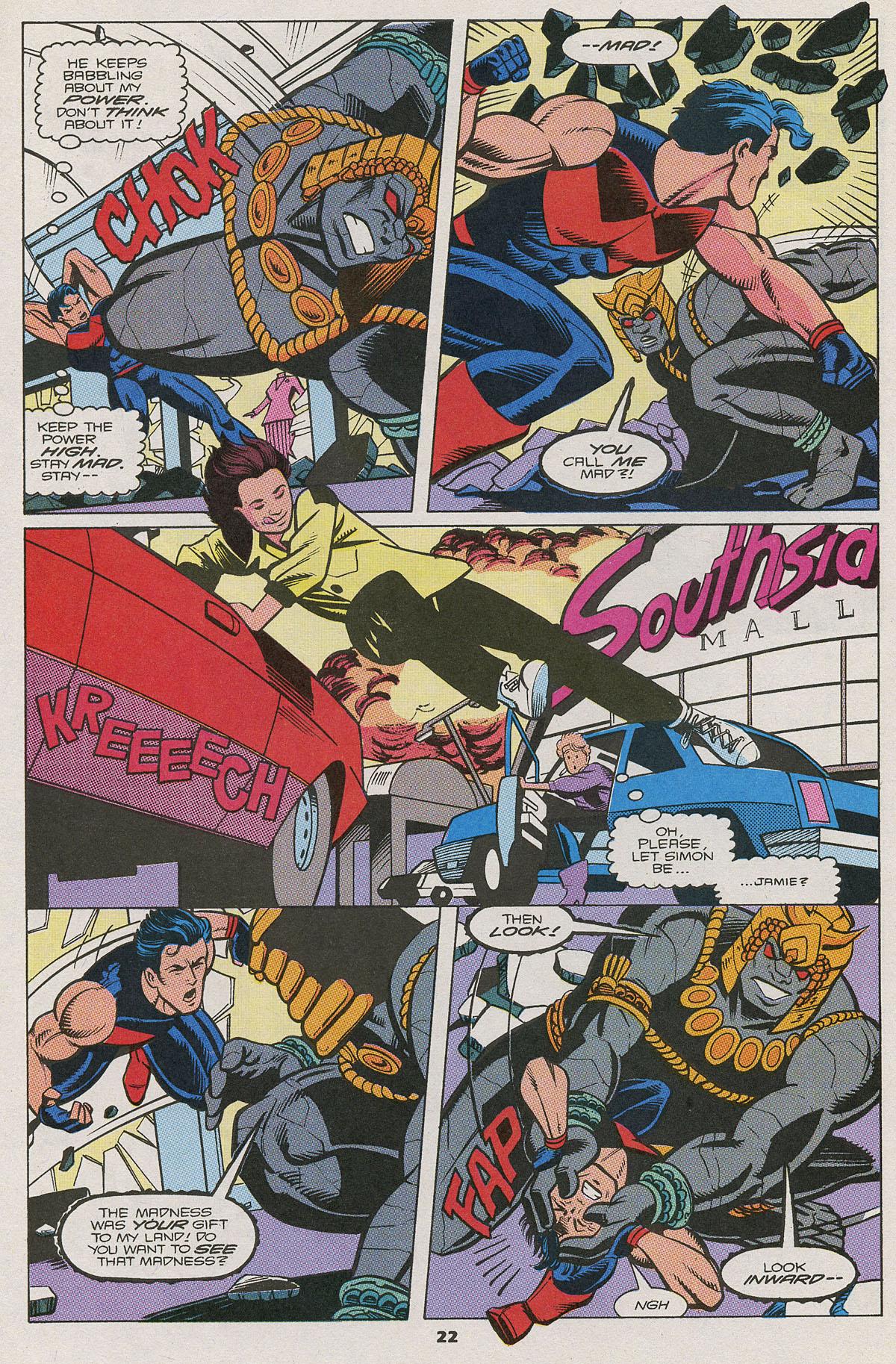 Read online Wonder Man (1991) comic -  Issue #11 - 16