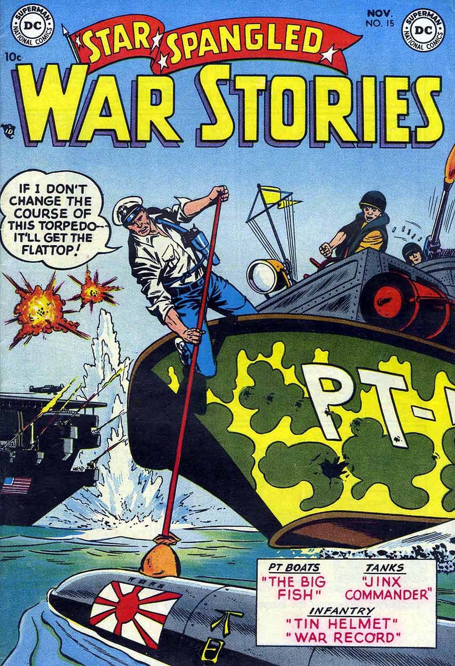 Star Spangled War Stories (1952) issue 15 - Page 1
