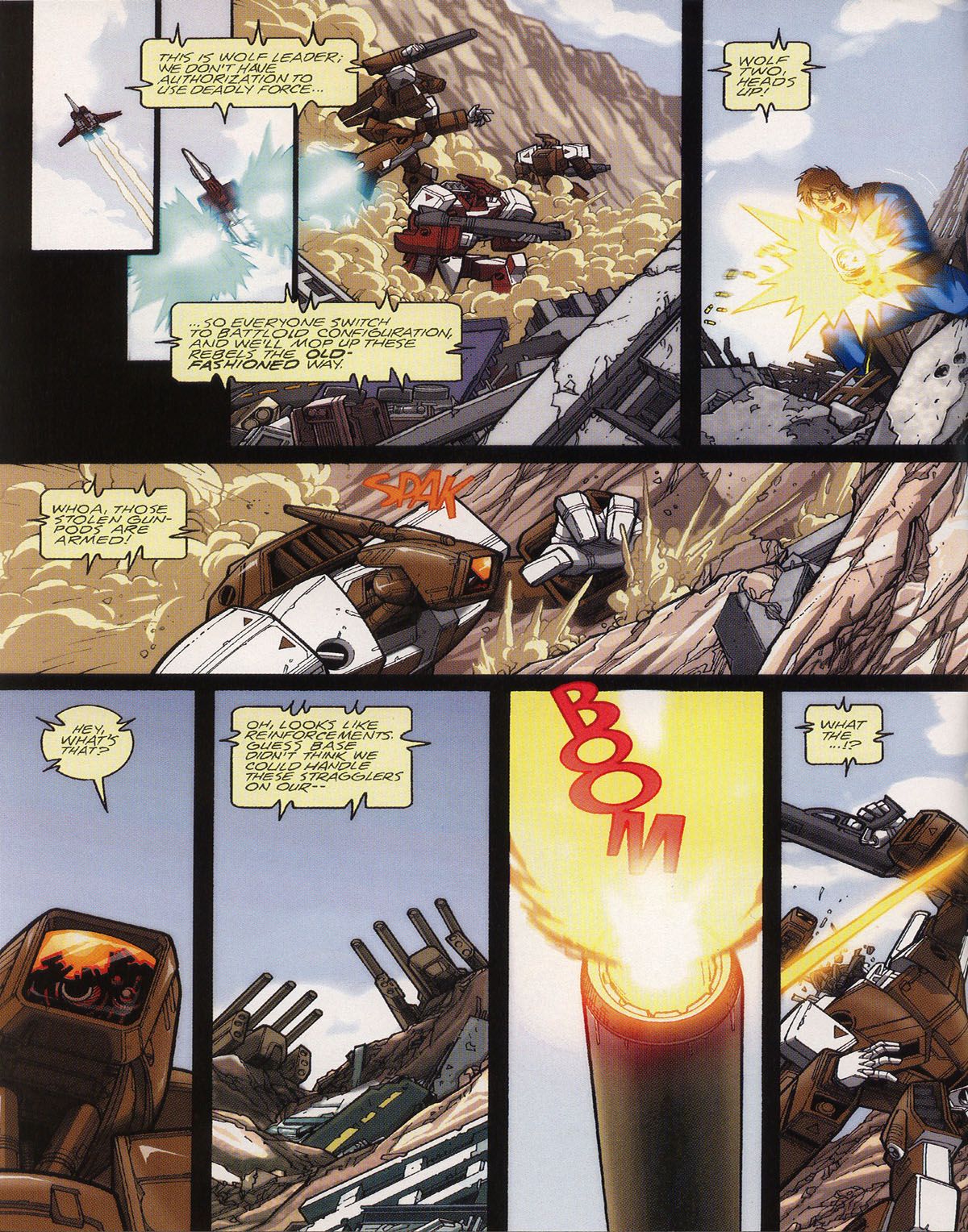 Robotech (2003) issue 0 - Page 4