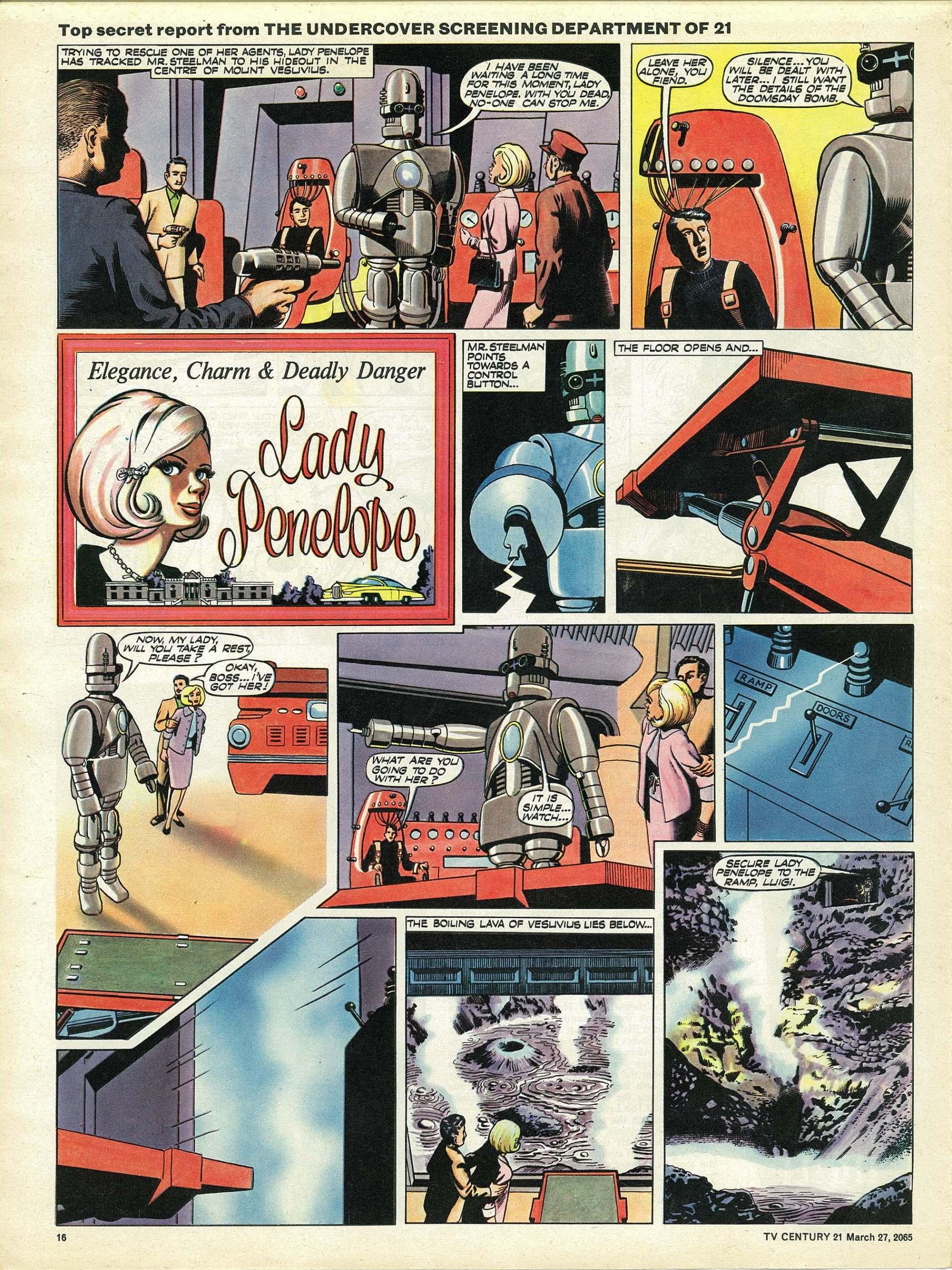 Read online TV Century 21 (TV 21) comic -  Issue #10 - 15