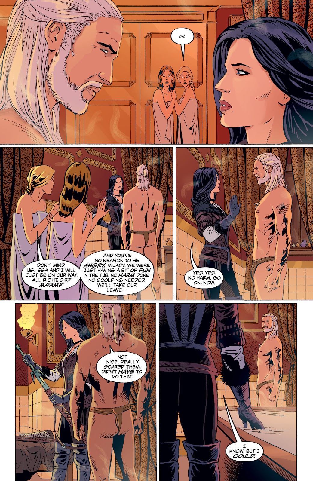 Read online The Witcher Omnibus comic -  Issue # TPB (Part 4) - 47