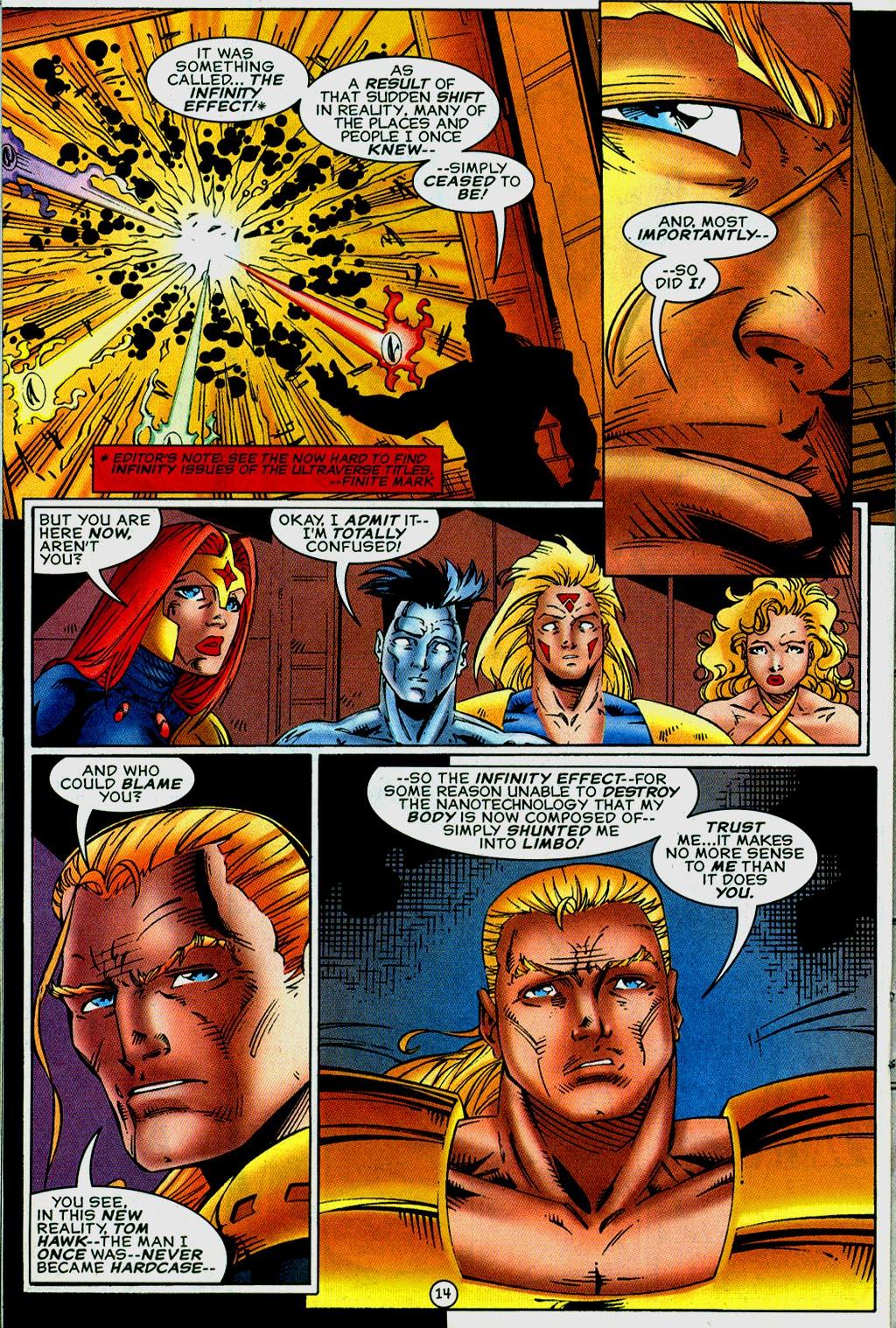 Read online UltraForce (1995) comic -  Issue #14 - 14
