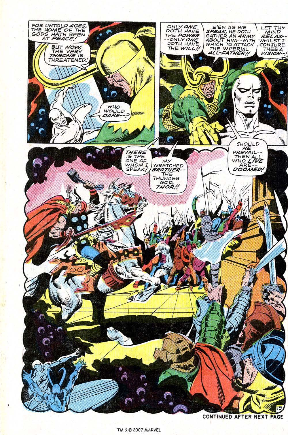 Read online Silver Surfer (1968) comic -  Issue #4 - 24