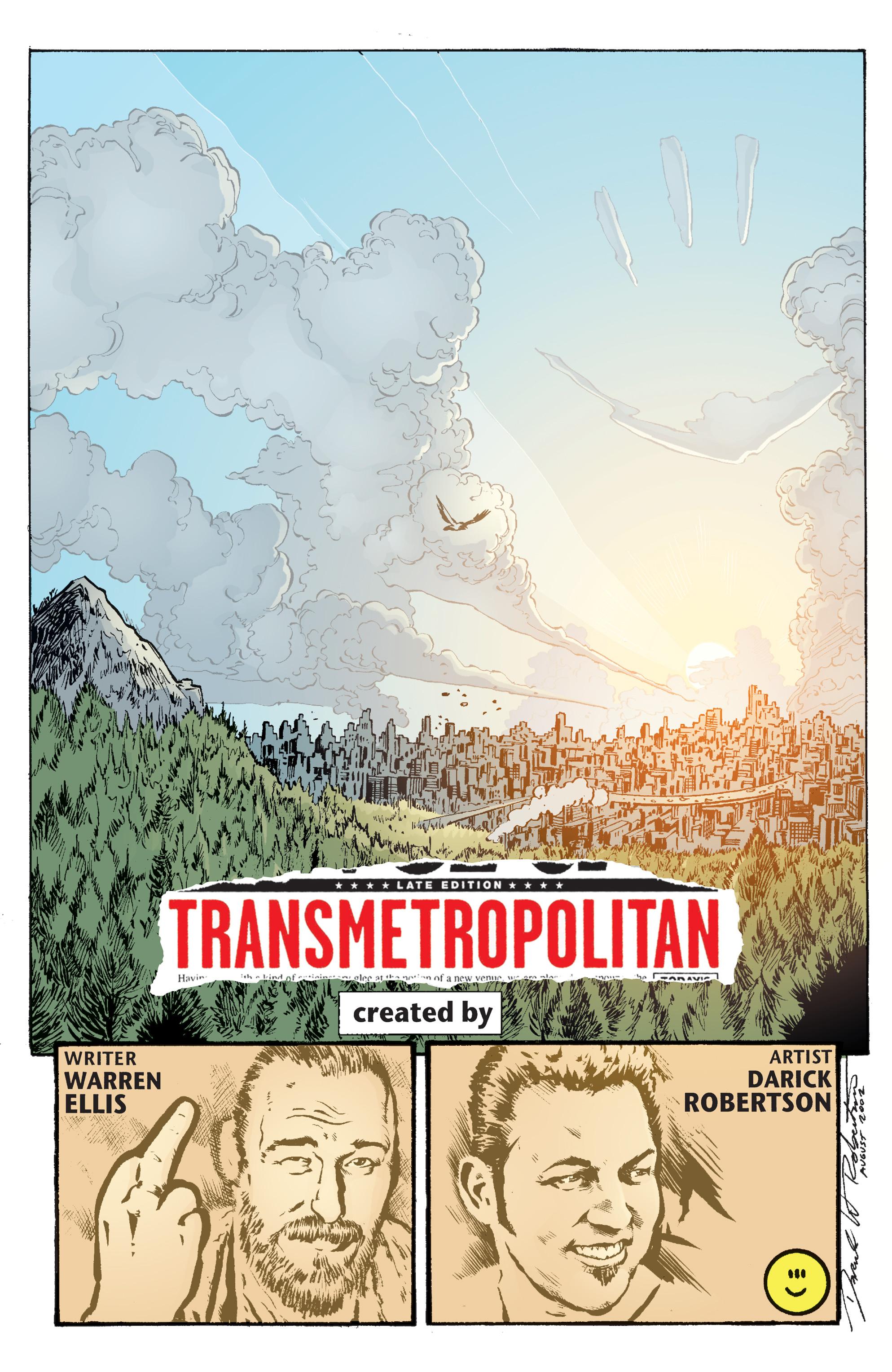 Read online Transmetropolitan comic -  Issue #60 - 22