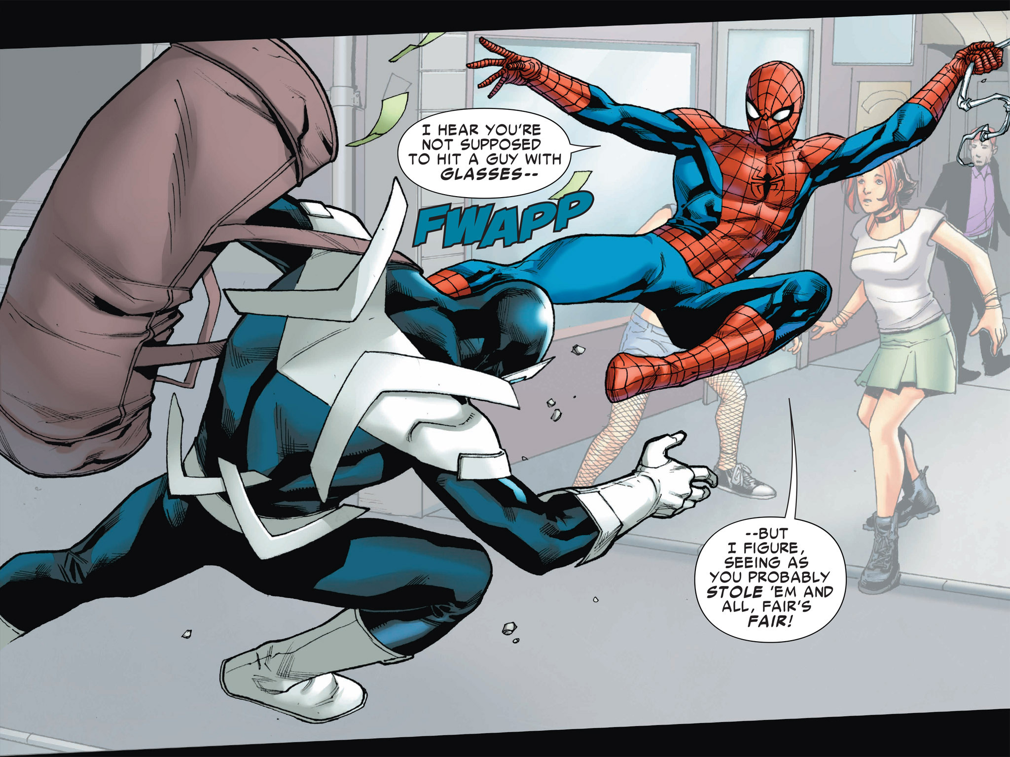 Read online Ultimate Spider-Man (Infinite Comics) (2016) comic -  Issue #2 - 23