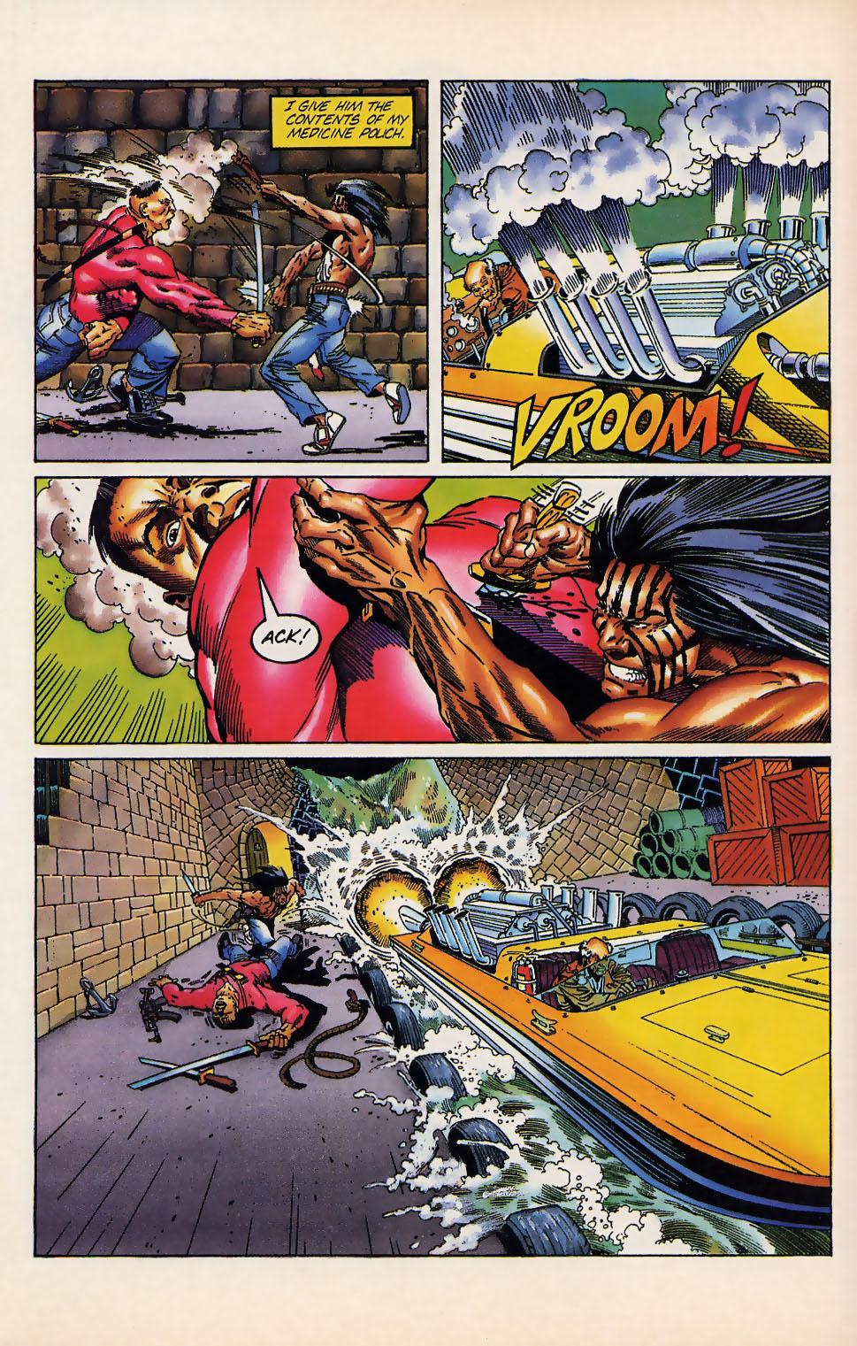 Read online Turok, Dinosaur Hunter (1993) comic -  Issue #12 - 17