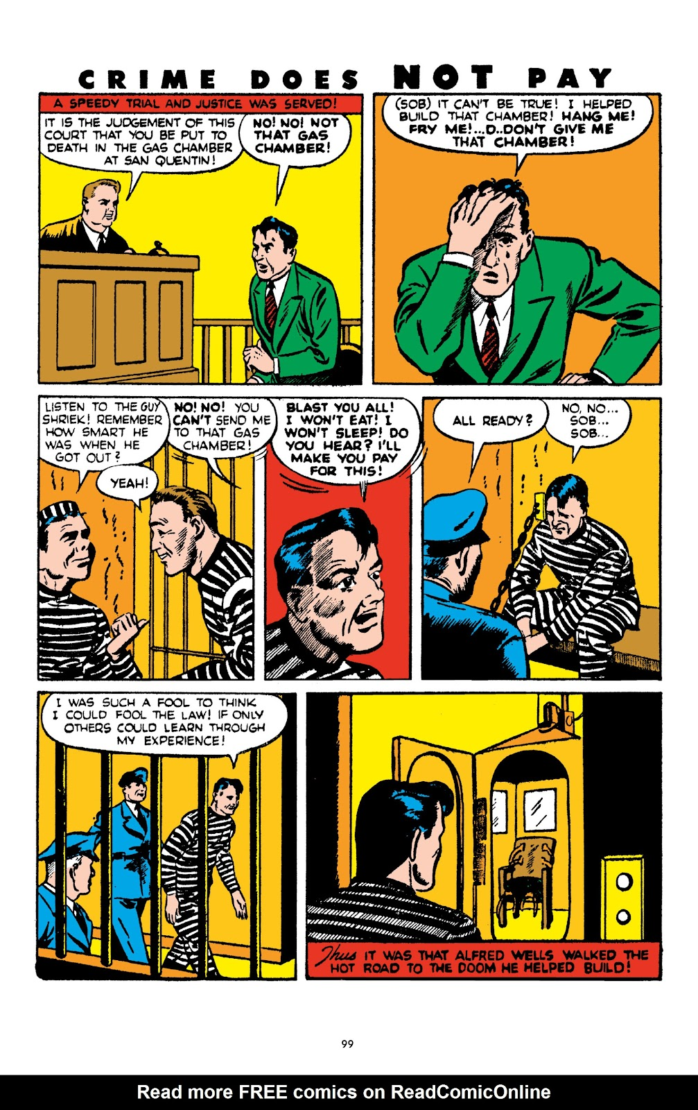 Read online Crime Does Not Pay Archives comic -  Issue # TPB 4 (Part 1) - 99
