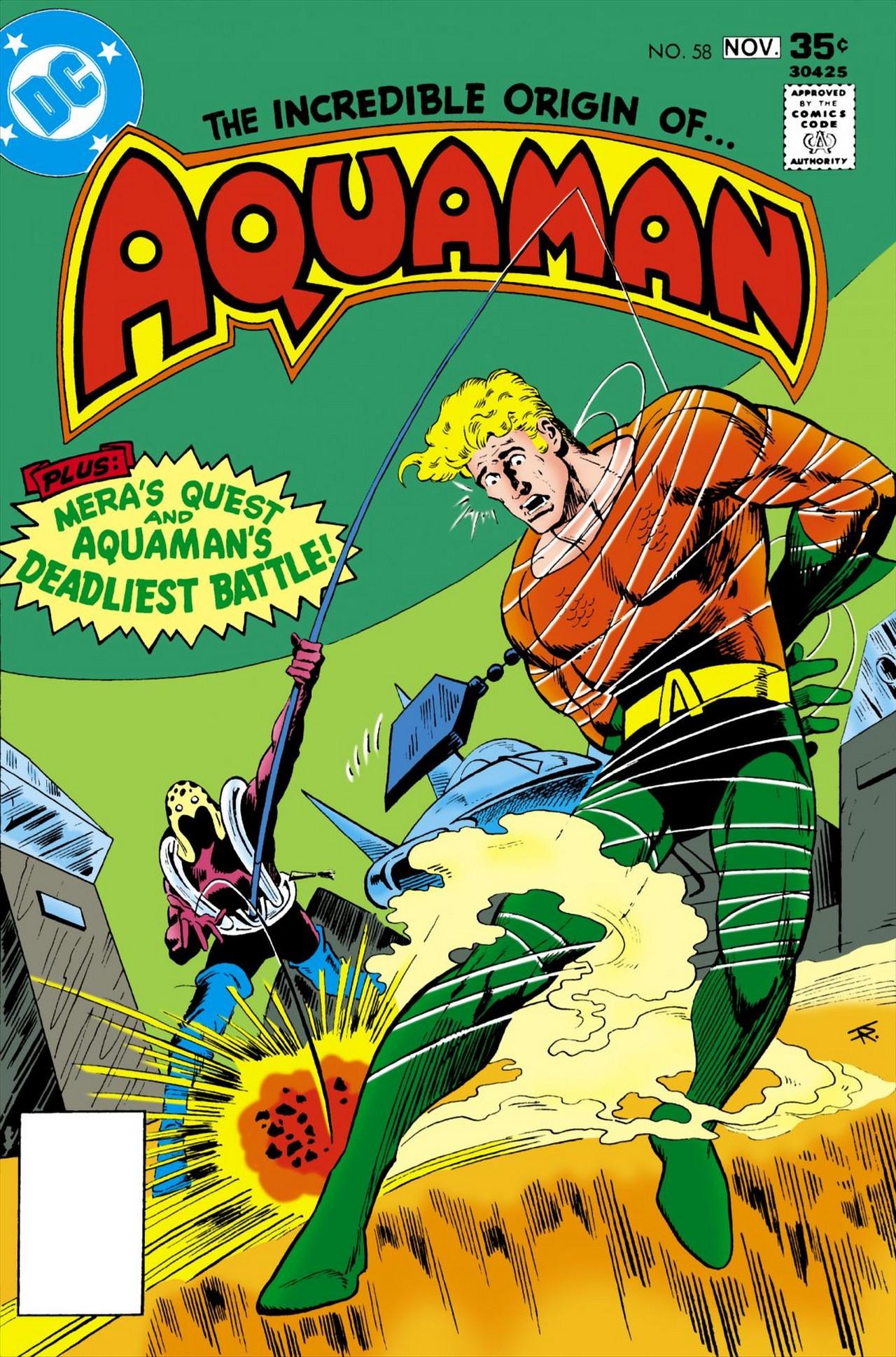 Read online Aquaman (1962) comic -  Issue #58 - 1