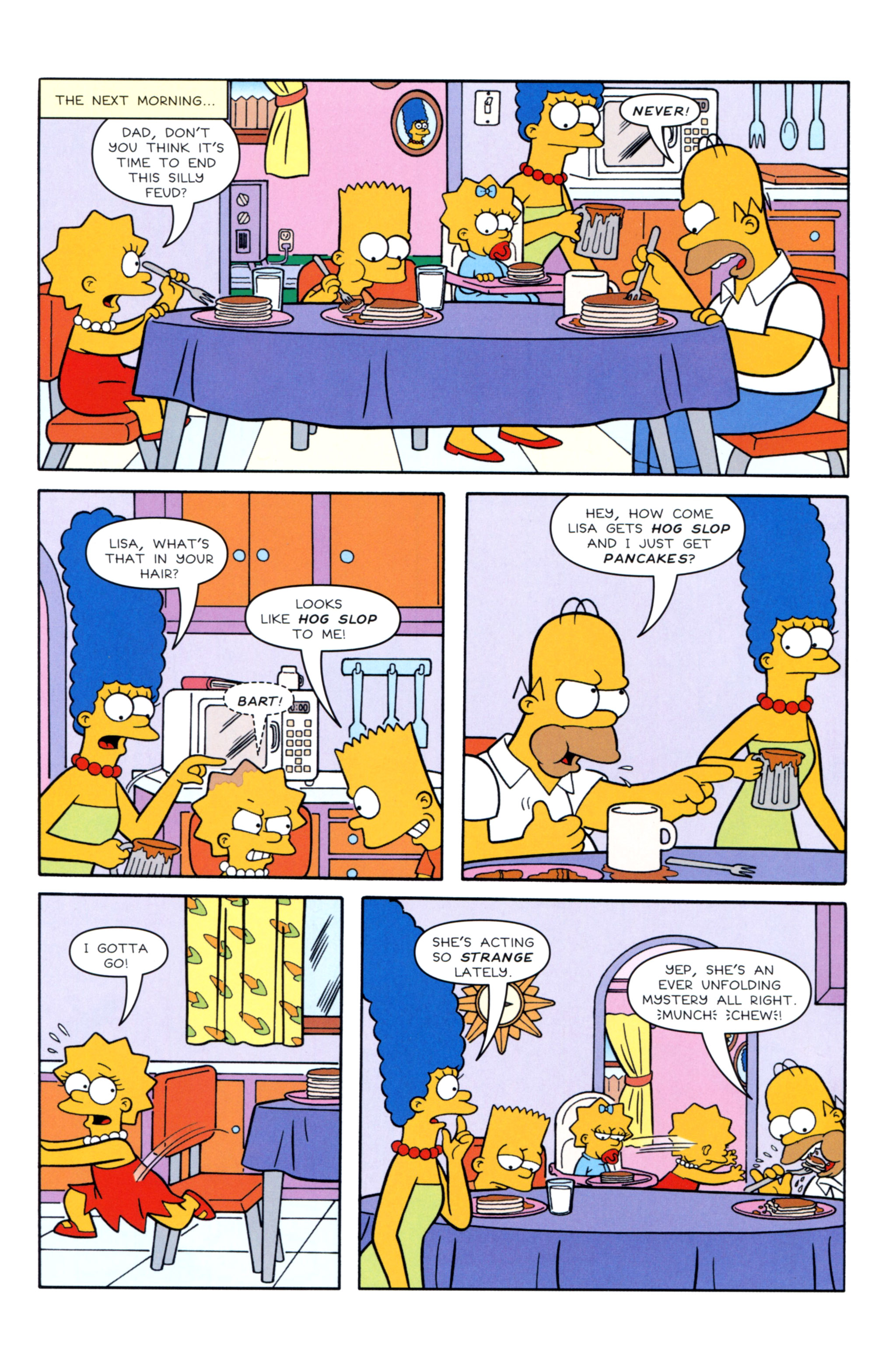 Read online Simpsons Illustrated (2012) comic -  Issue #12 - 24