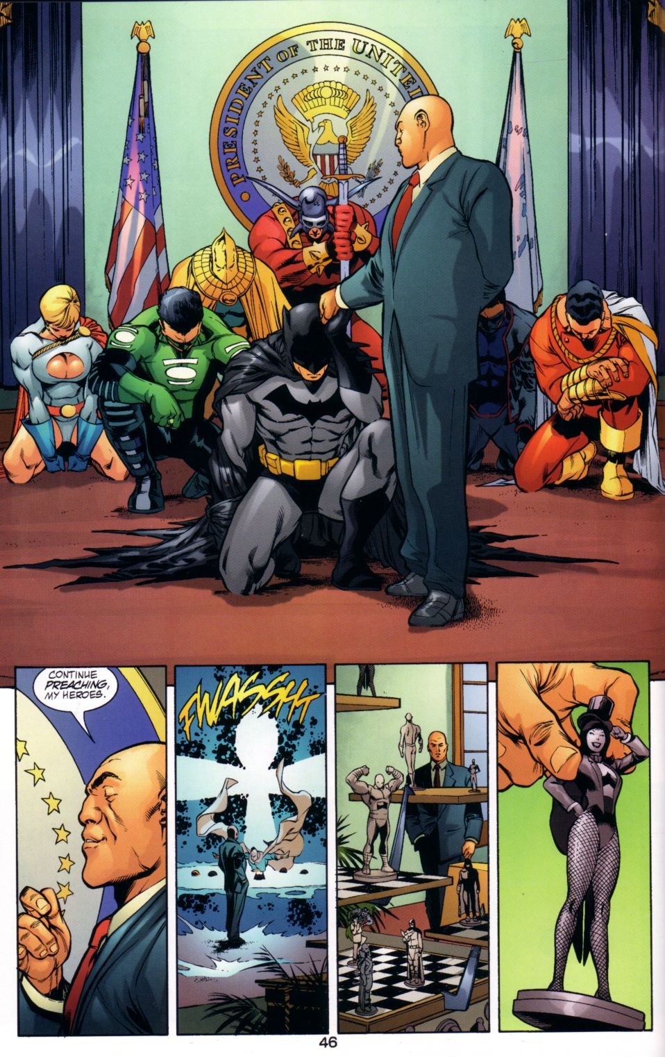 Read online JLA/JSA: Virtue and Vice comic -  Issue # TPB - 49