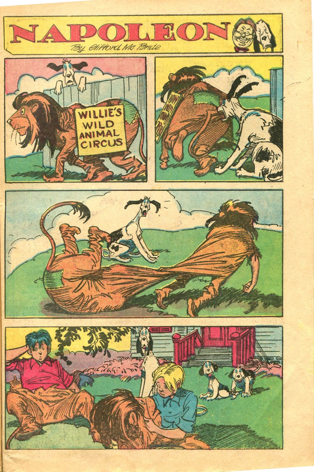Read online Famous Funnies comic -  Issue #154 - 49