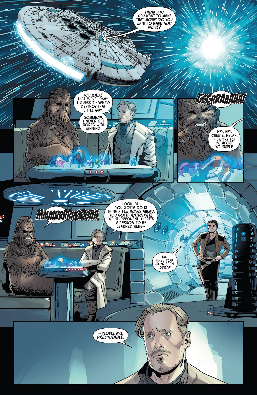 Read online Solo: A Star Wars Story Adaptation comic -  Issue #4 - 5