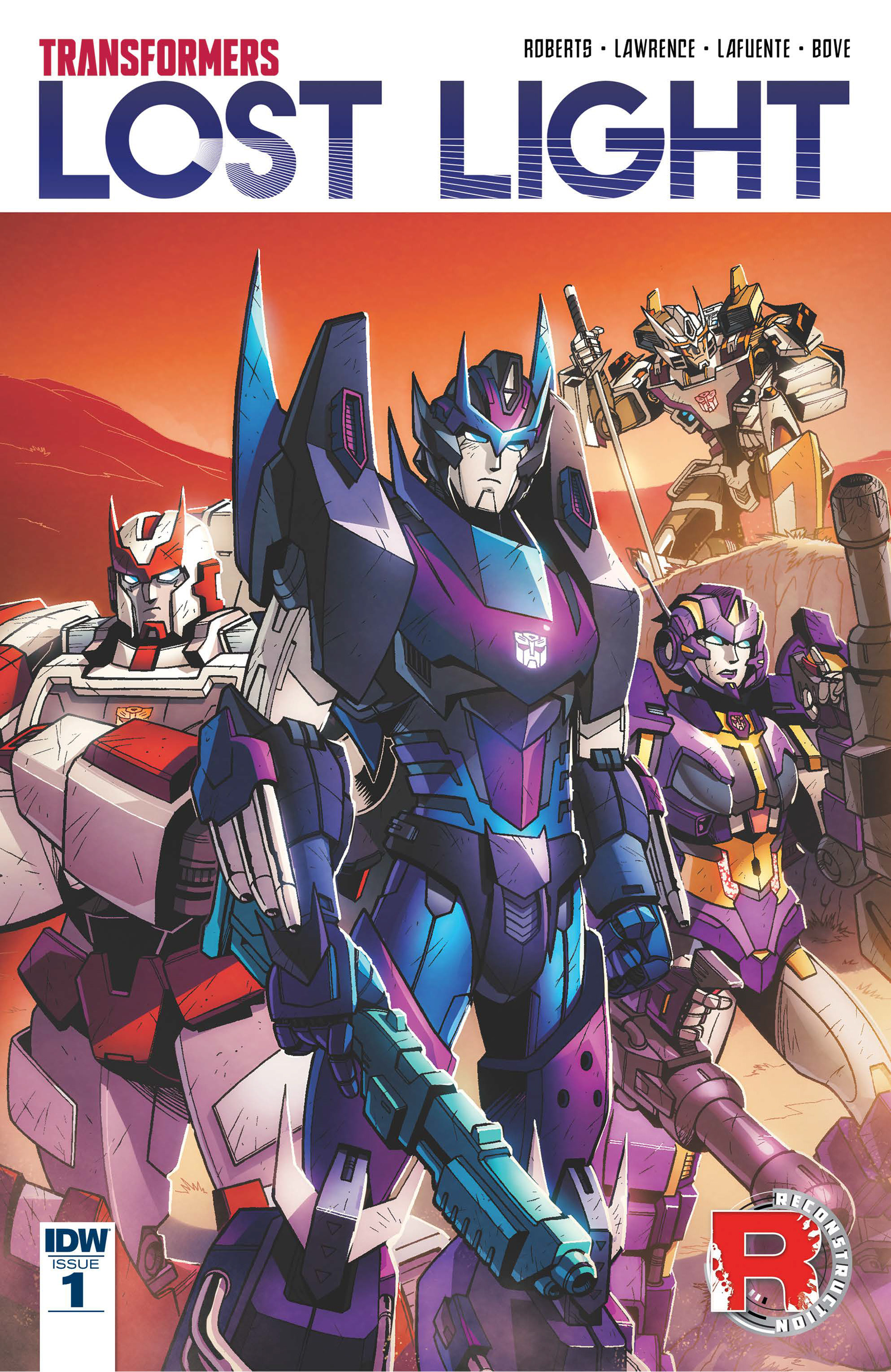 Read online Transformers: Lost Light comic -  Issue #1 - 1