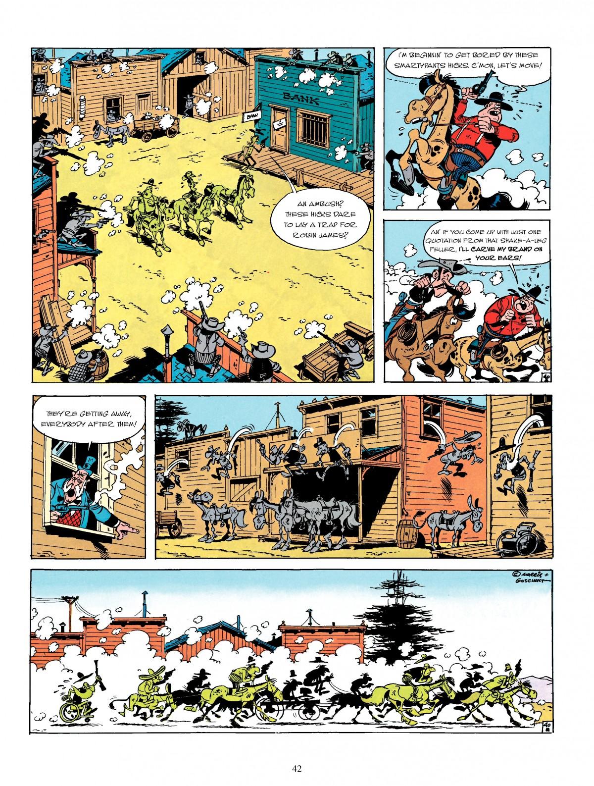 Read online A Lucky Luke Adventure comic -  Issue #4 - 44