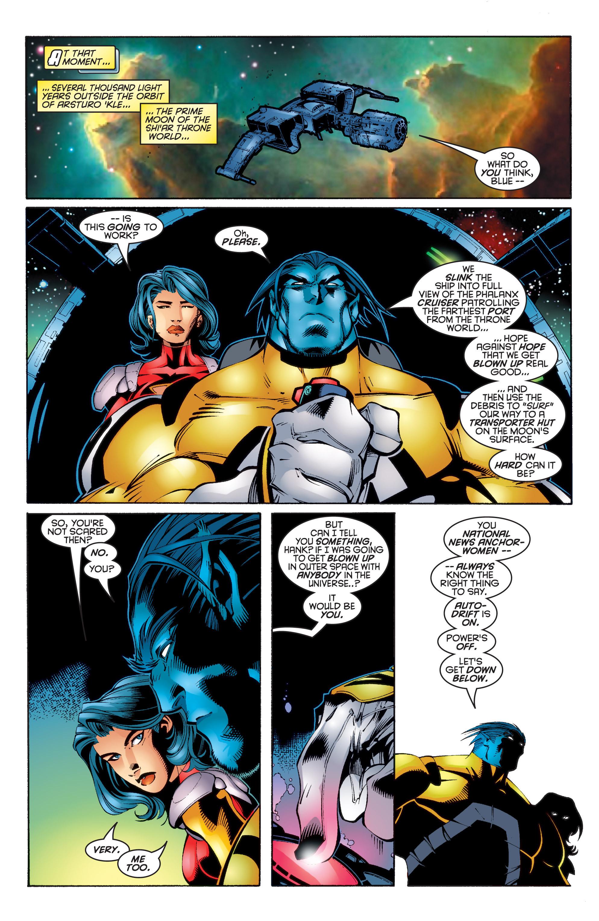Read online Uncanny X-Men (1963) comic -  Issue #343 - 16
