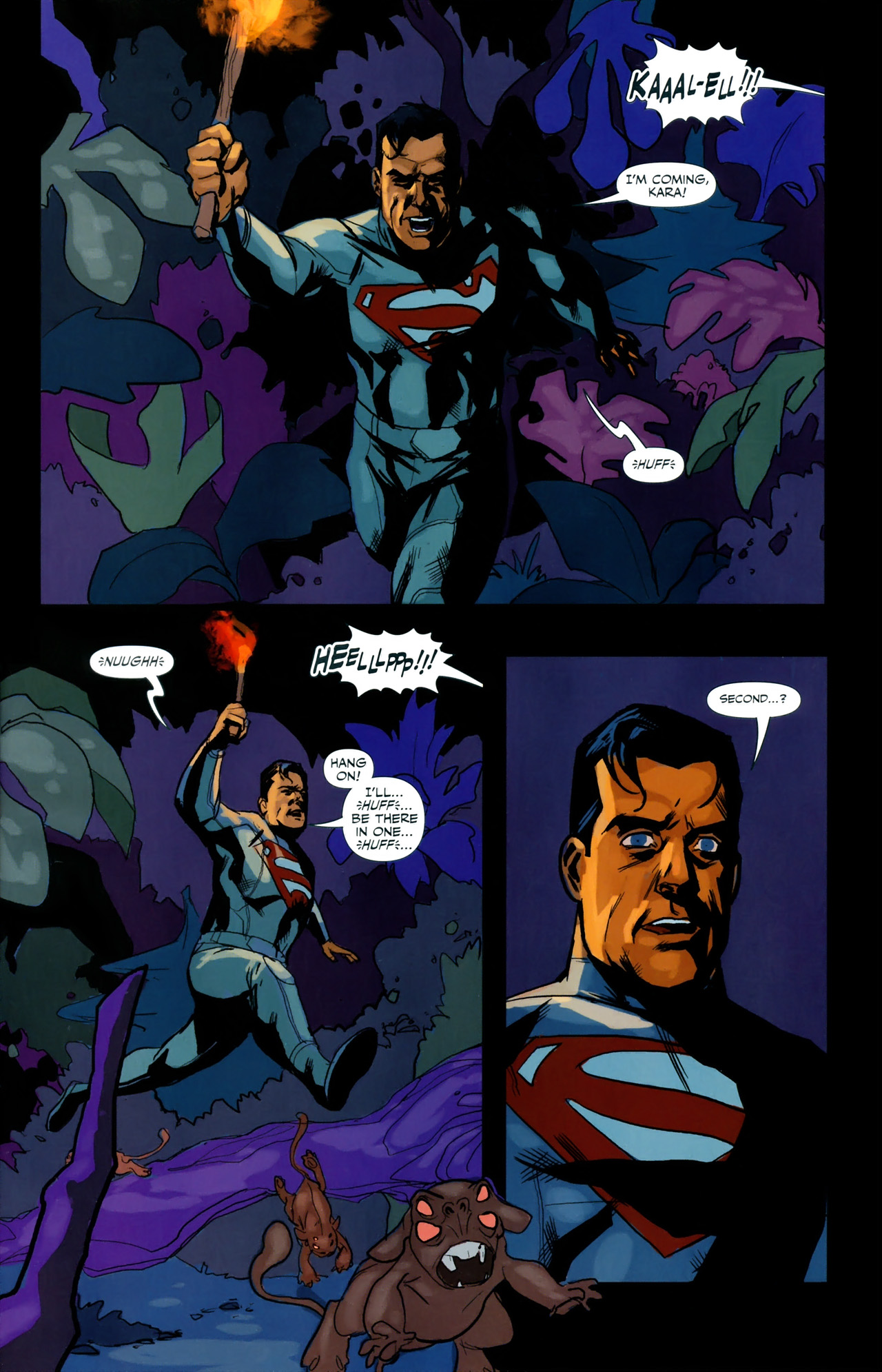 Read online Superman/Supergirl: Maelstrom comic -  Issue #3 - 2