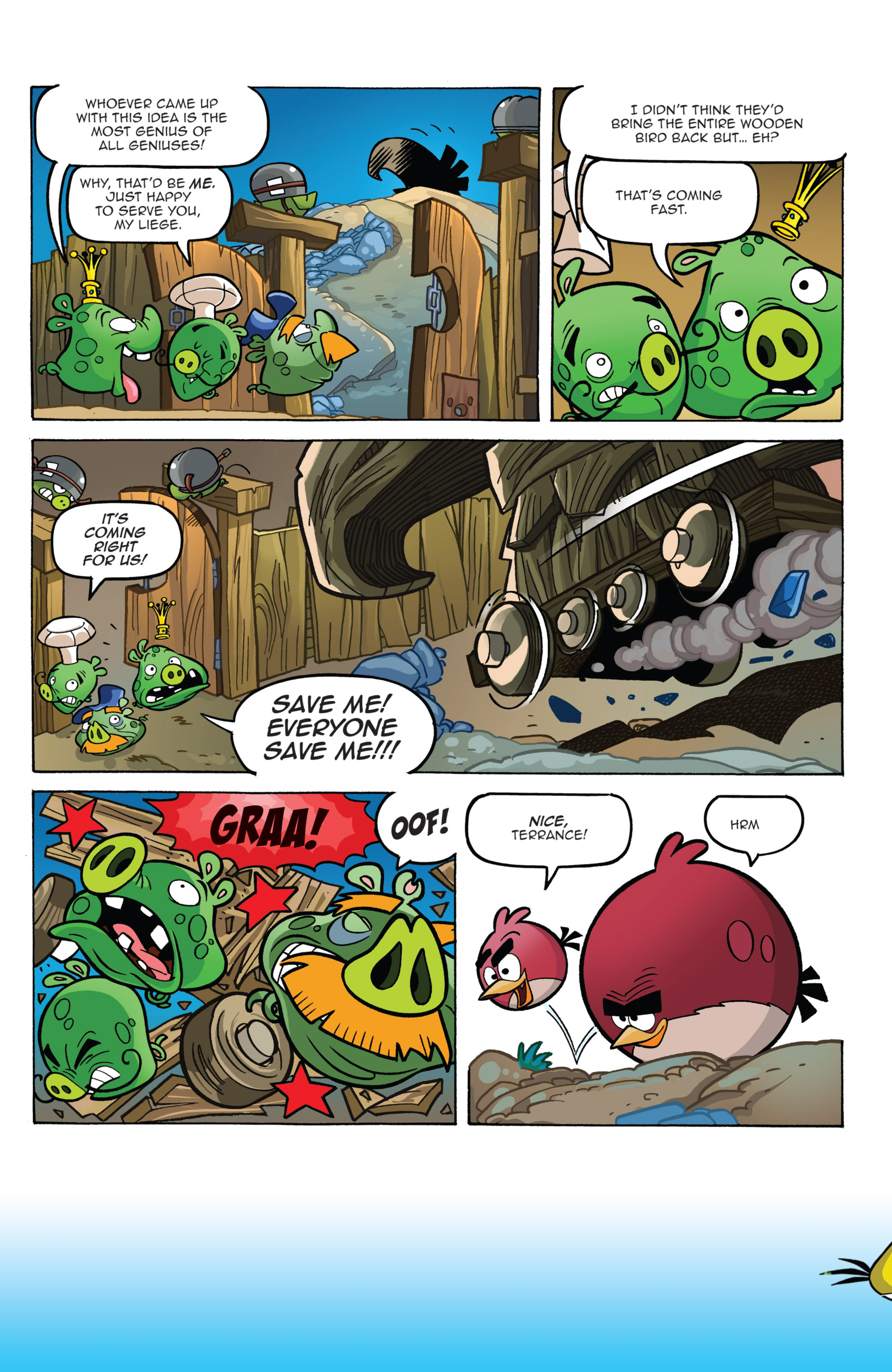 Read online Angry Birds Comics (2014) comic -  Issue #2 - 14
