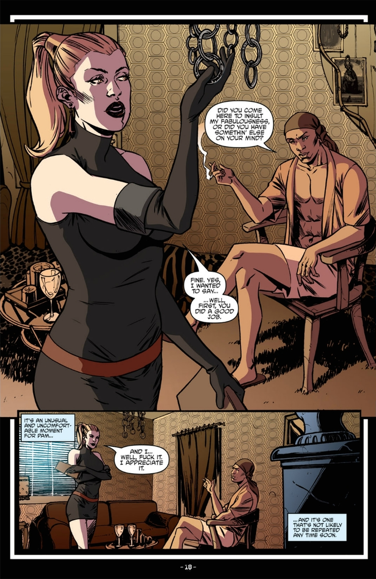Read online True Blood: French Quarter comic -  Issue #6 - 22