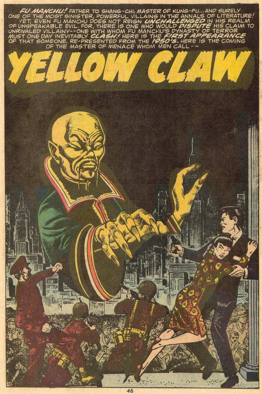 Read online Giant-Size Master of Kung Fu comic -  Issue #1 - 38
