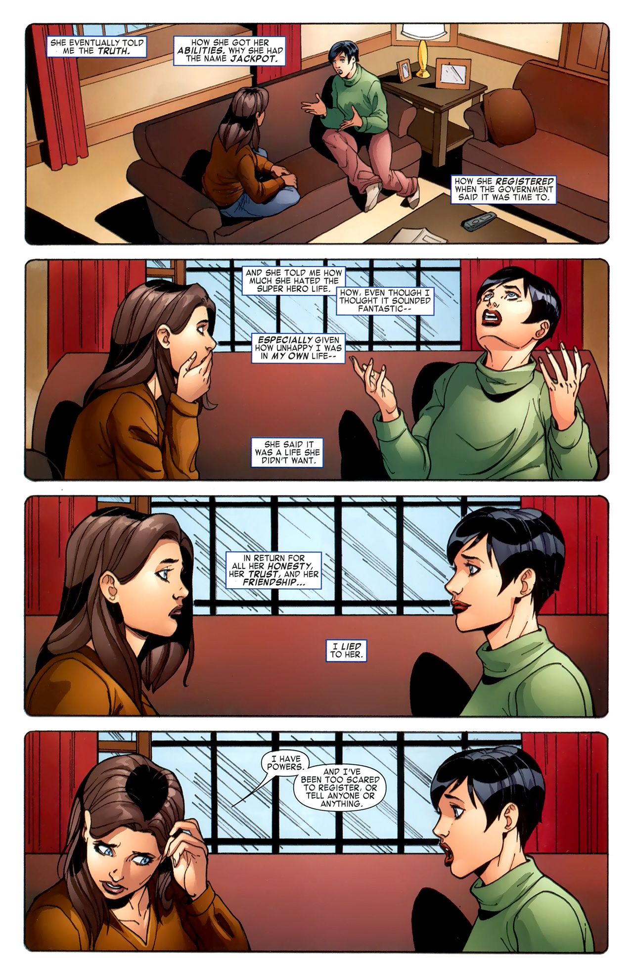 Read online Amazing Spider-Man Family comic -  Issue #6 - 12