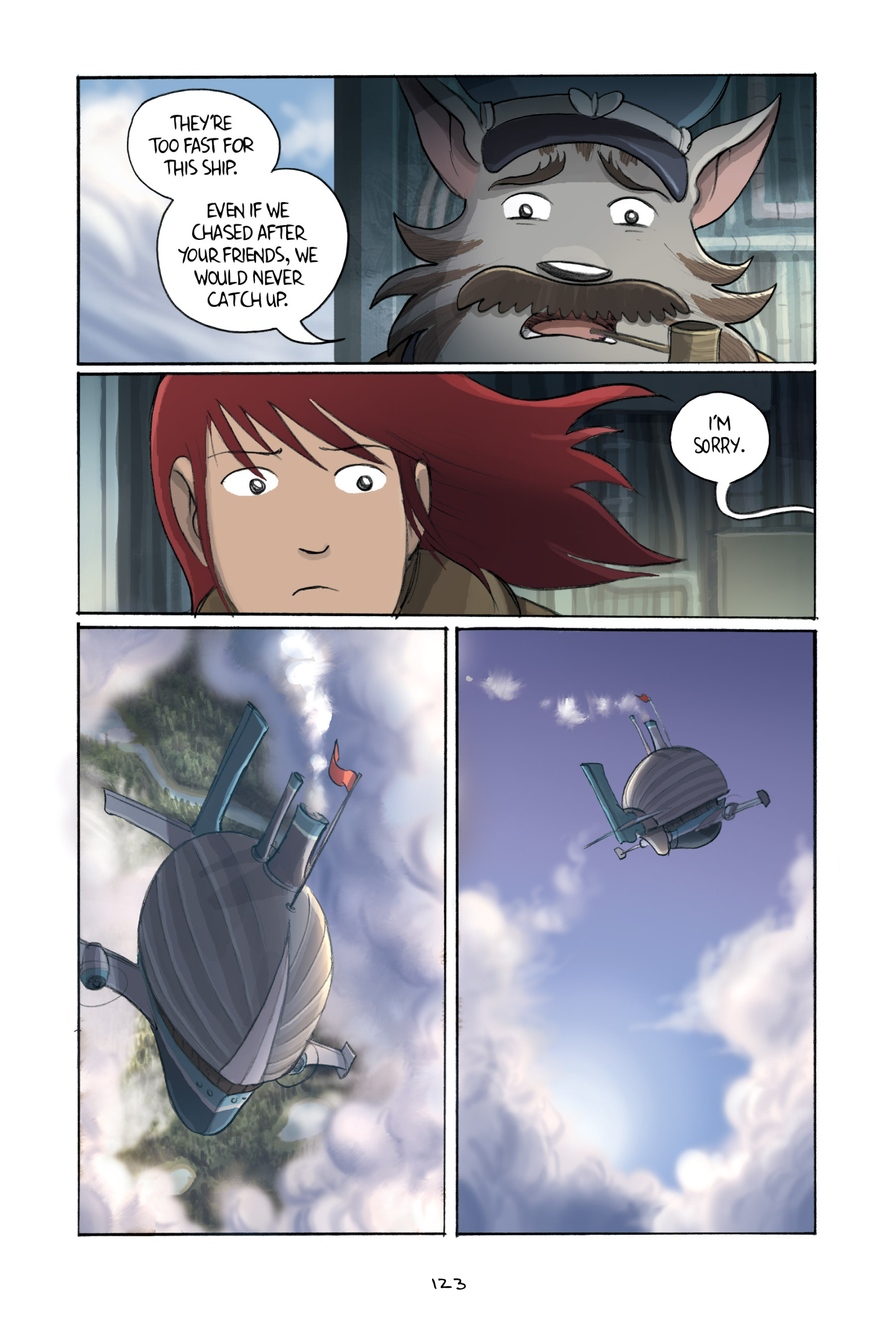 Read online Amulet comic -  Issue #3 - 121