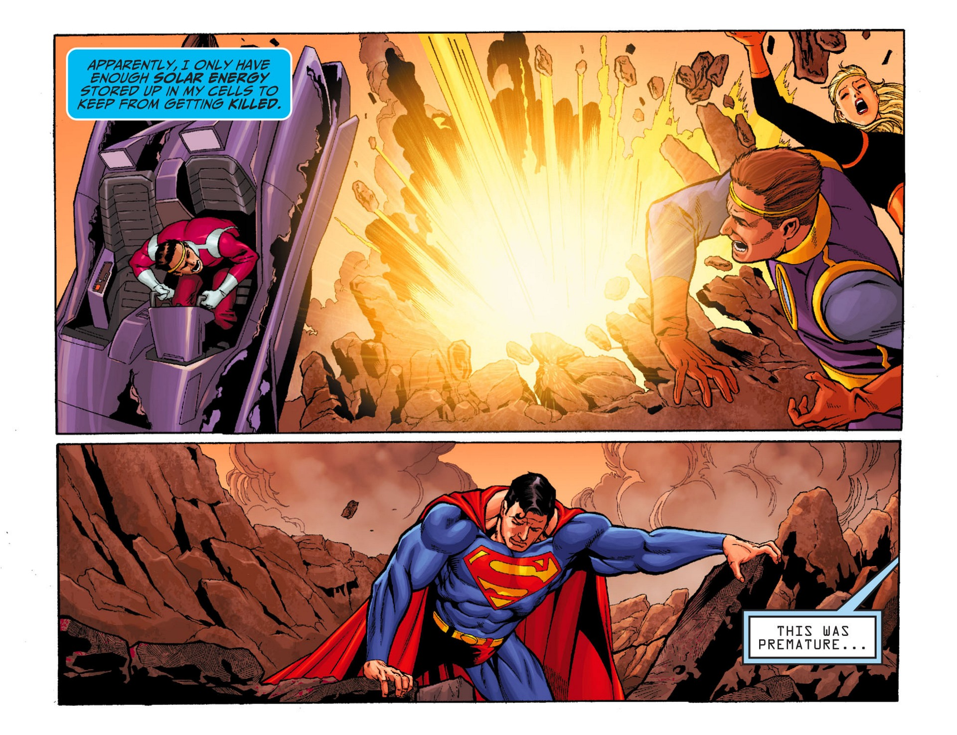 Read online Adventures of Superman [I] comic -  Issue #24 - 6