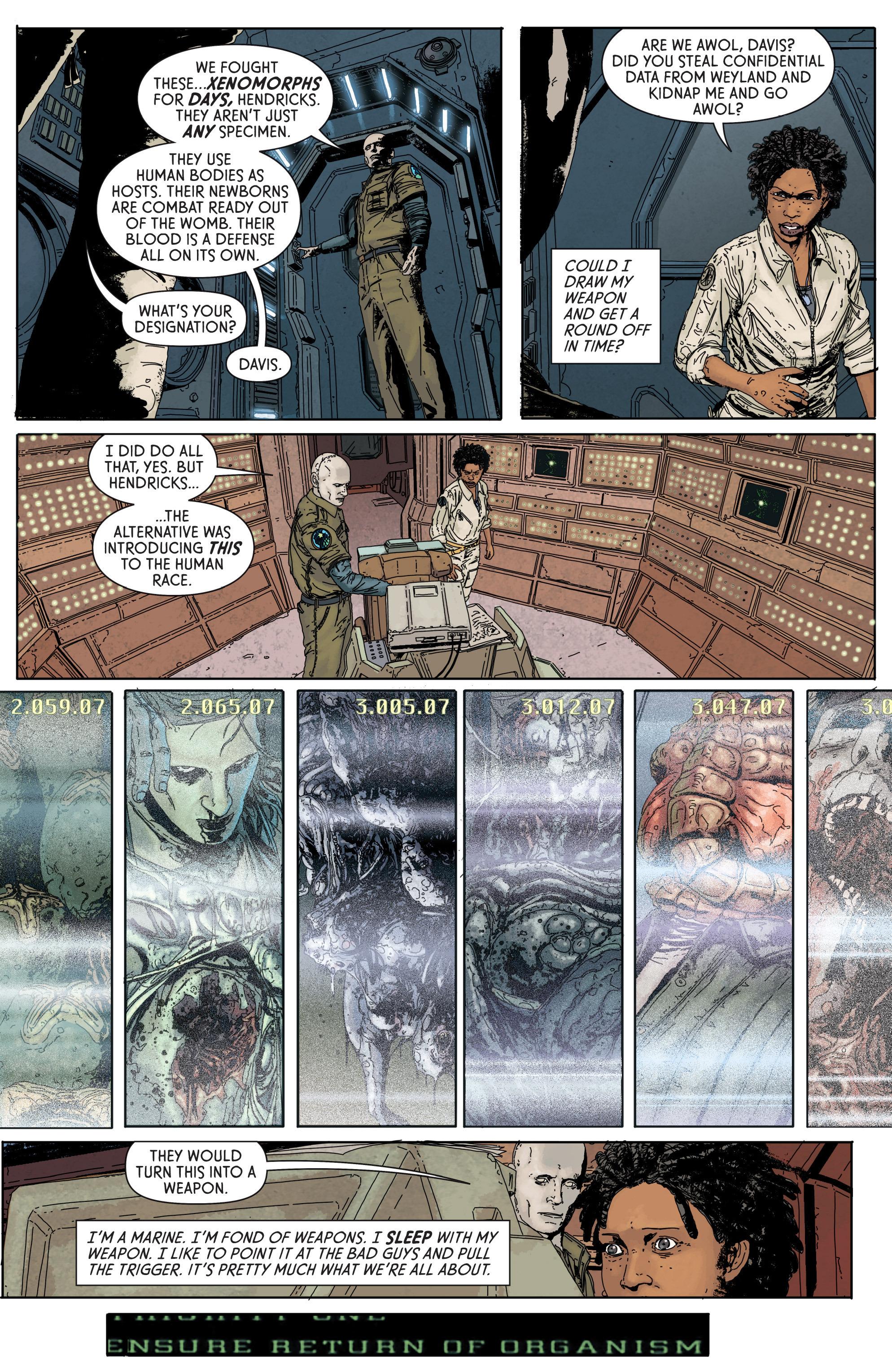 Read online Aliens: Defiance comic -  Issue #1 - 28