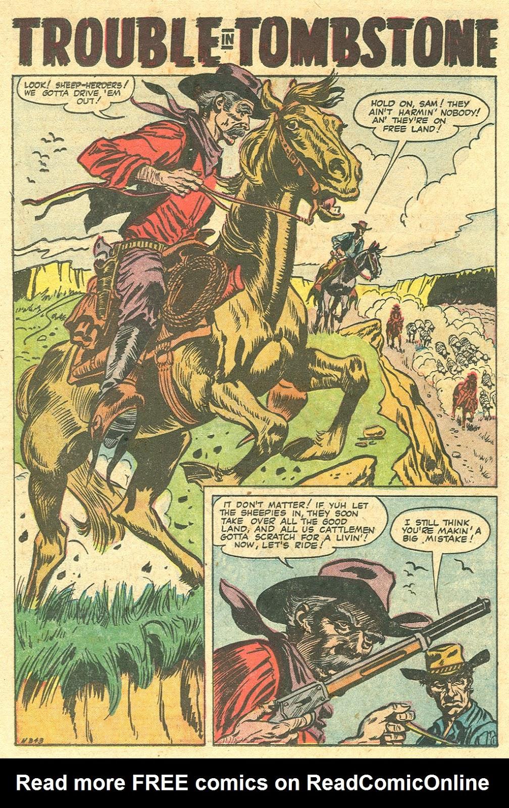 Gunsmoke Western issue 33 - Page 23