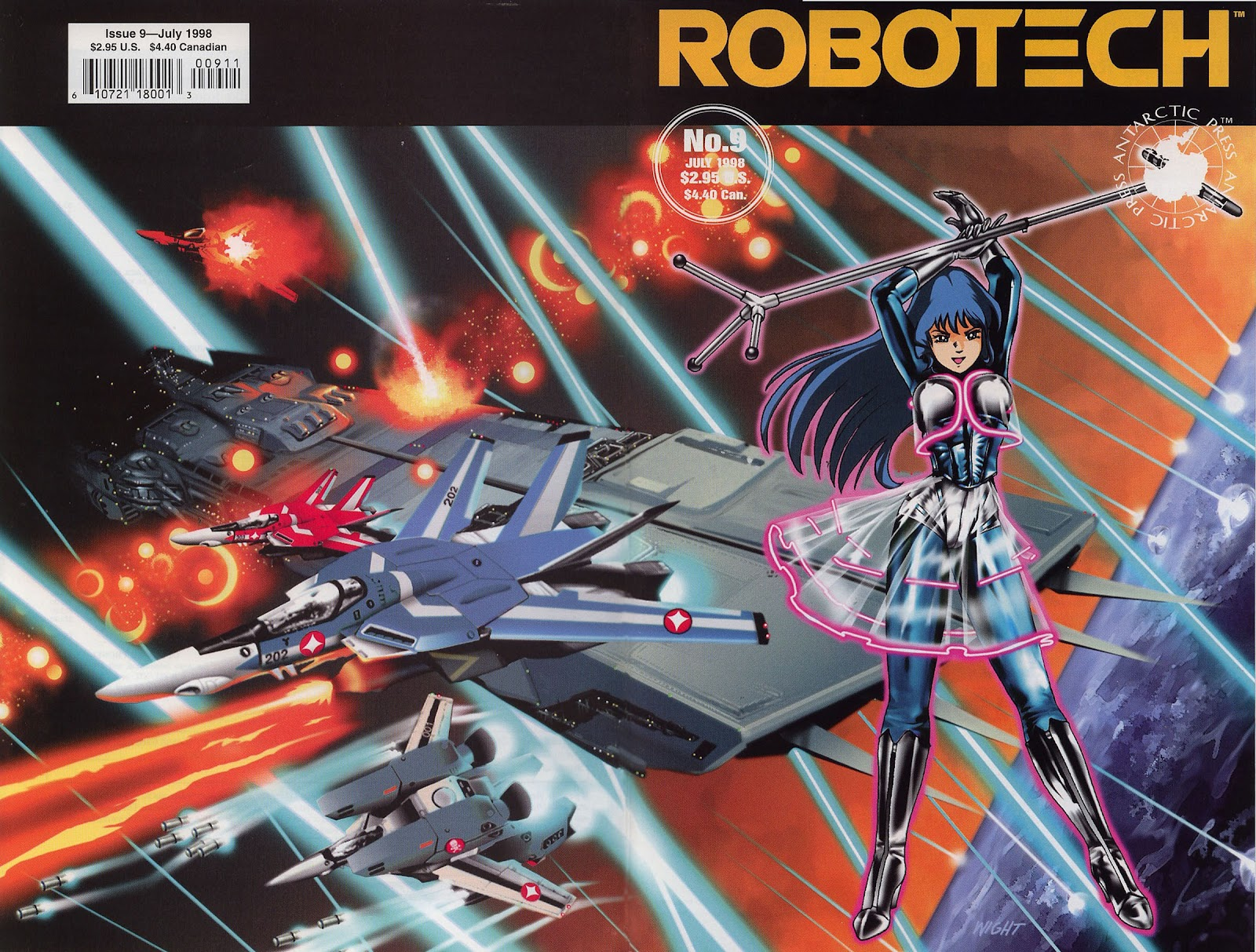 Robotech (1997) issue 9 - Page 1