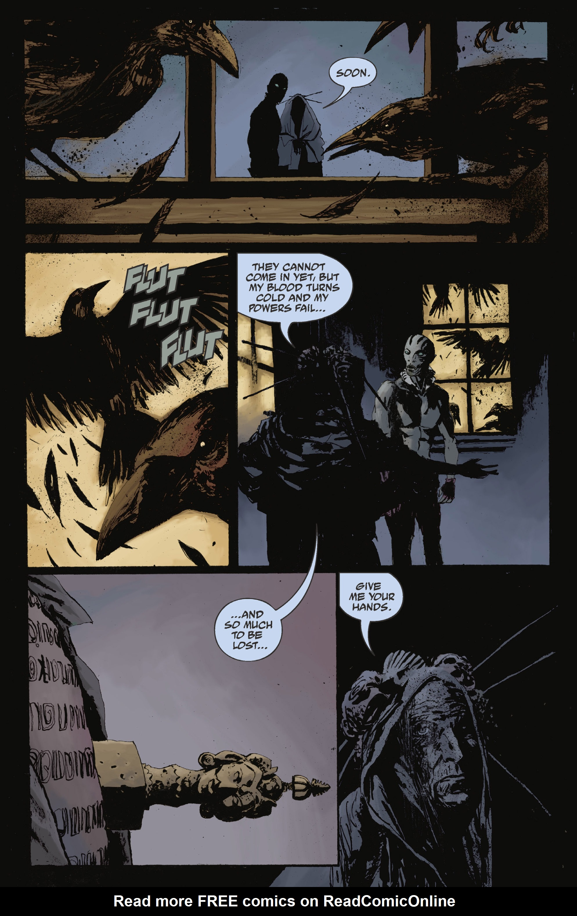 Read online Abe Sapien: The Drowning comic -  Issue #Abe Sapien: The Drowning _TPB - 84