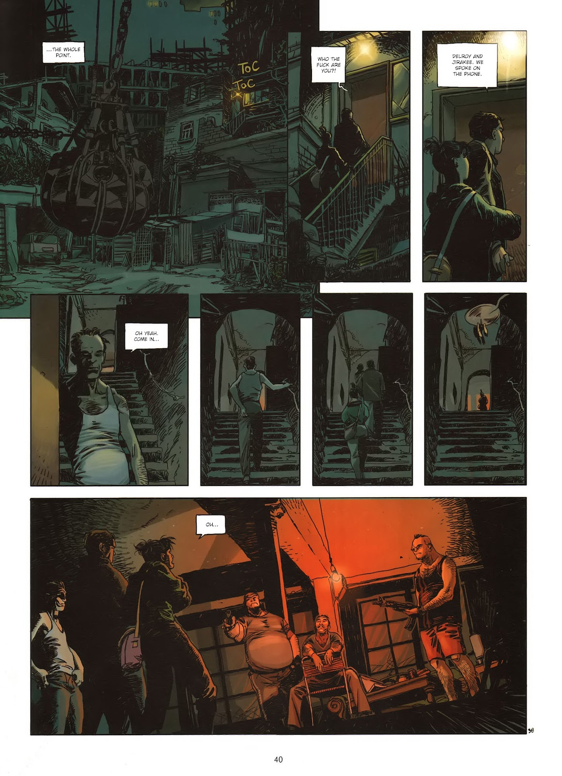 Read online Cutting Edge (2013) comic -  Issue #1 - 38