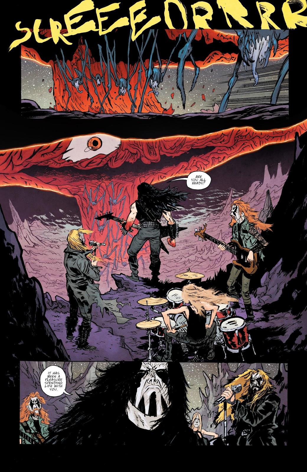 Read online Murder Falcon comic -  Issue #5 - 4