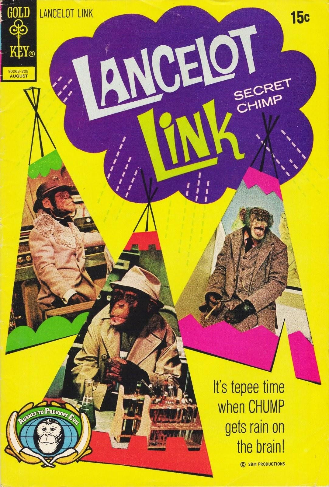 Lancelot Link Secret Chimp 6 Page 1