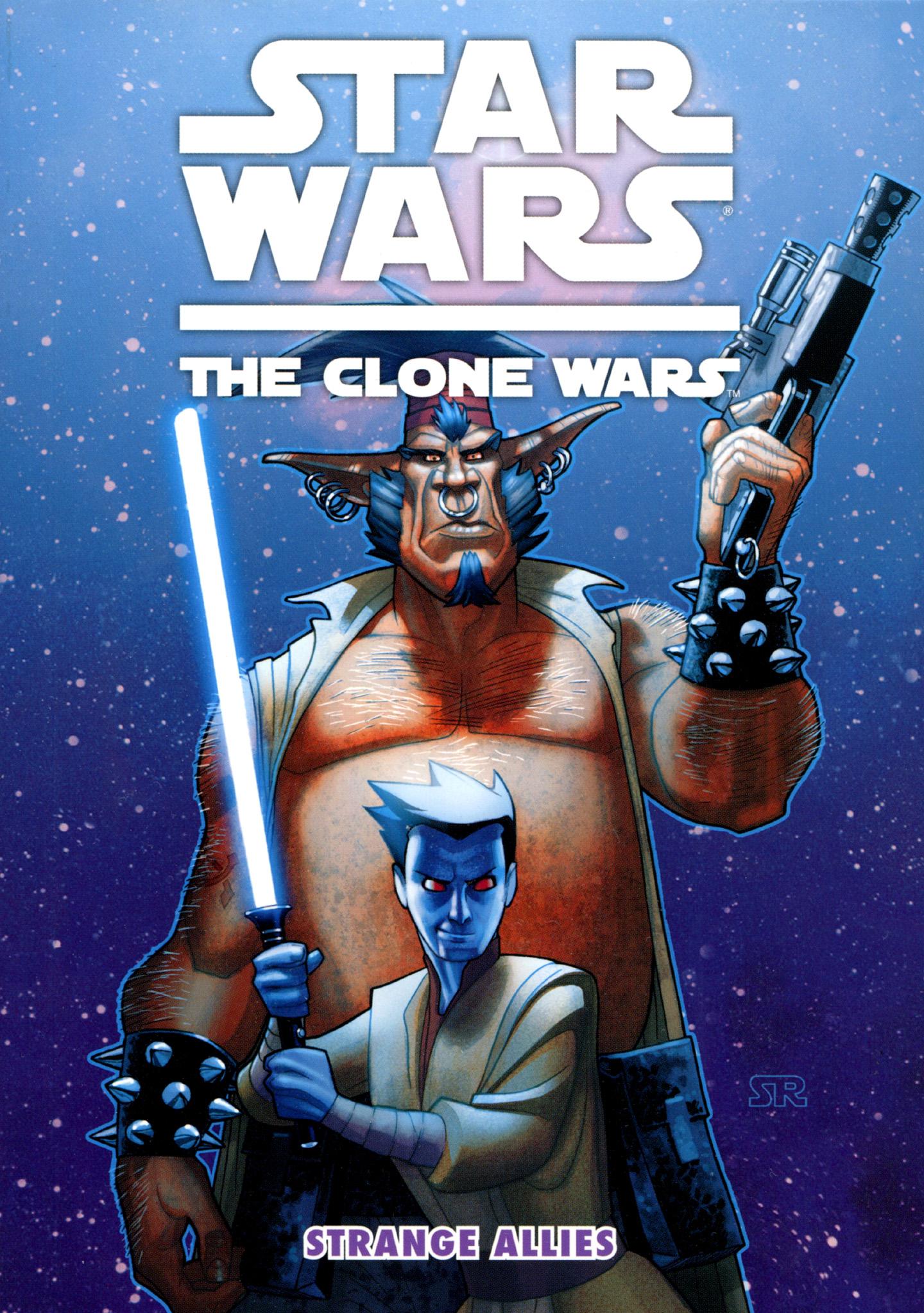 Read online Star Wars: The Clone Wars - Strange Allies comic -  Issue # Full - 1