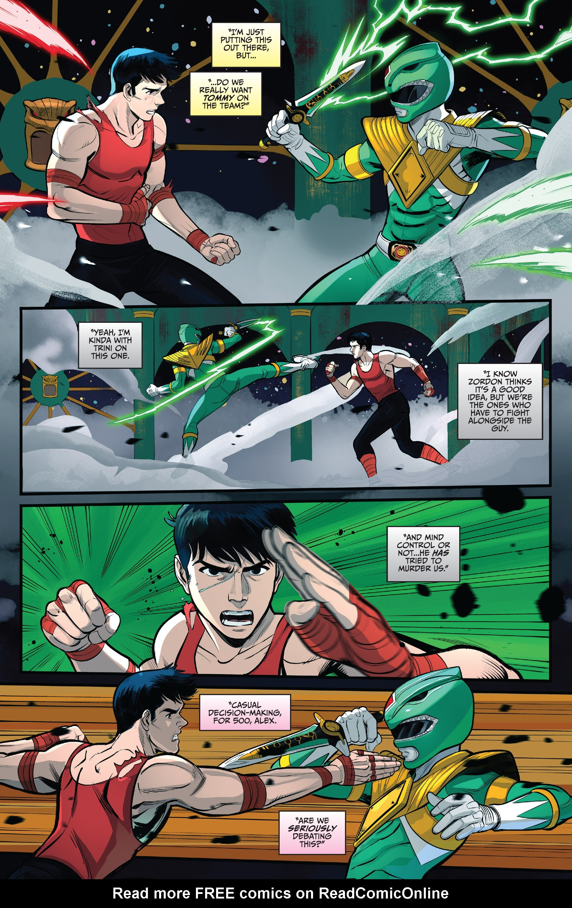 Read online Saban's Go Go Power Rangers comic -  Issue #22 - 3