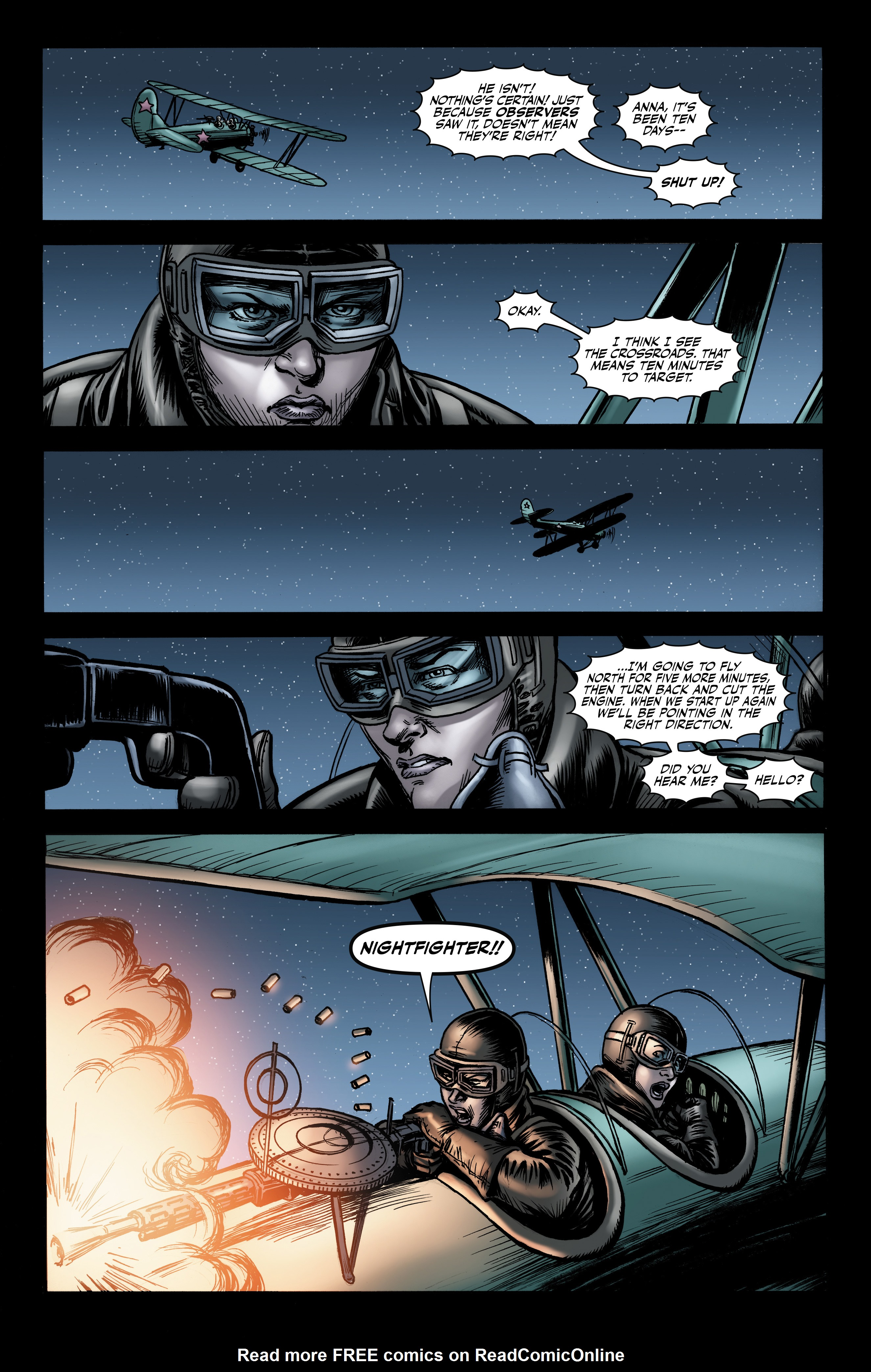 Read online Battlefields: Night Witches comic -  Issue # TPB - 61
