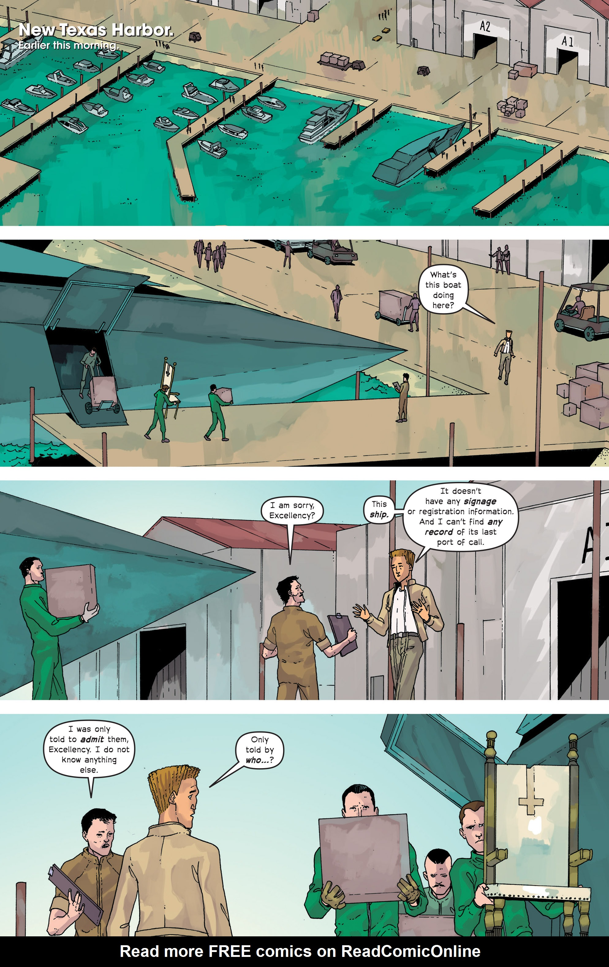 Read online Great Pacific comic -  Issue #15 - 7