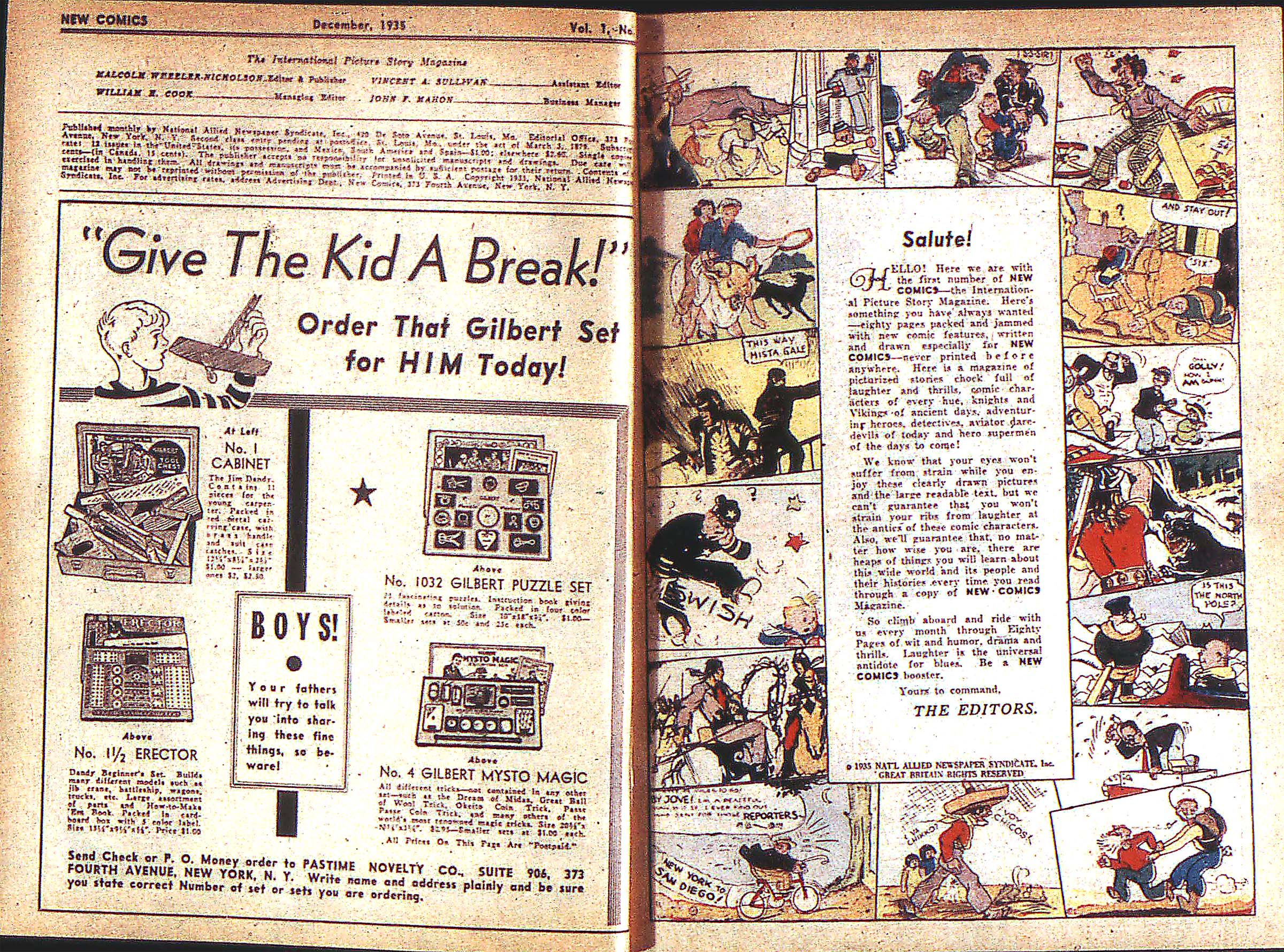 Read online Adventure Comics (1938) comic -  Issue #1 - 3