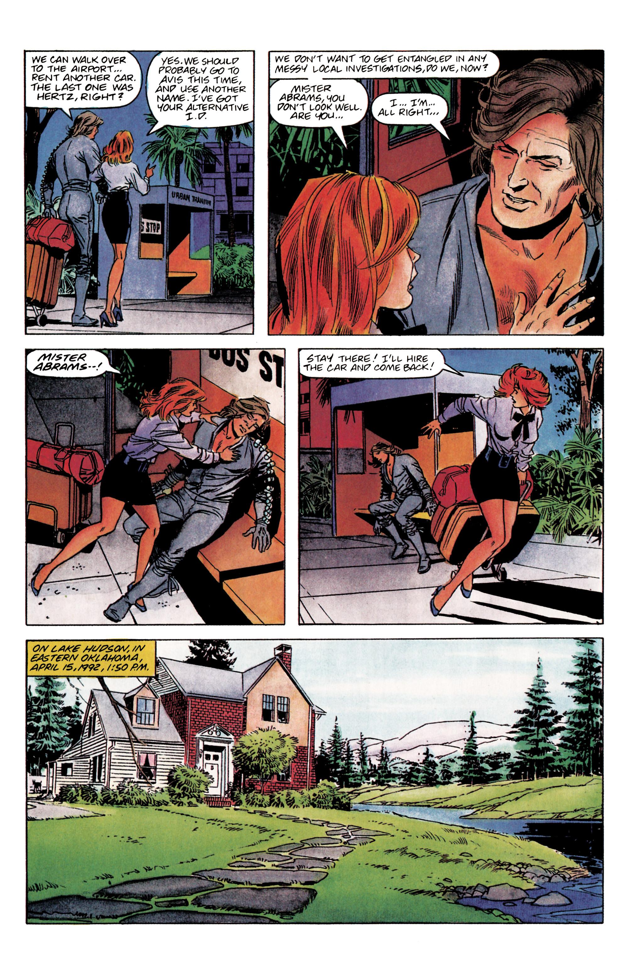 Read online Eternal Warrior (1992) comic -  Issue #3 - 7